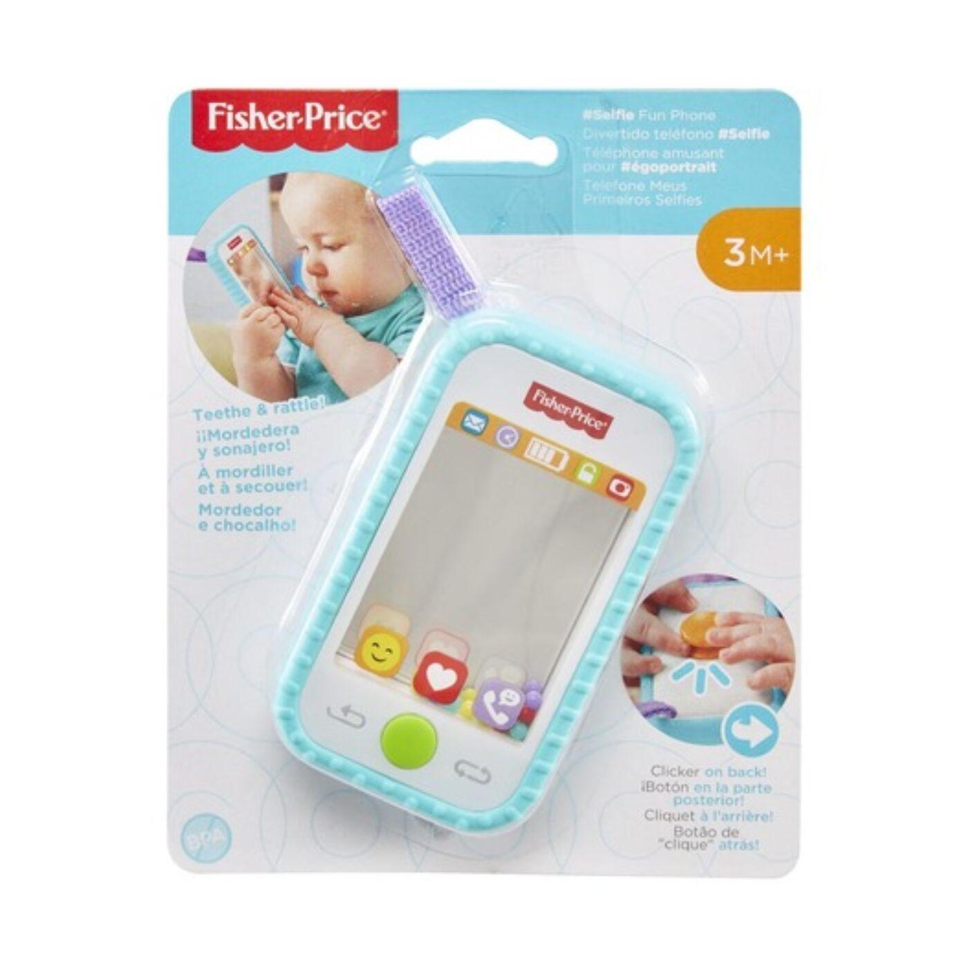 Fisher Price Selfie Telefoncsörgő