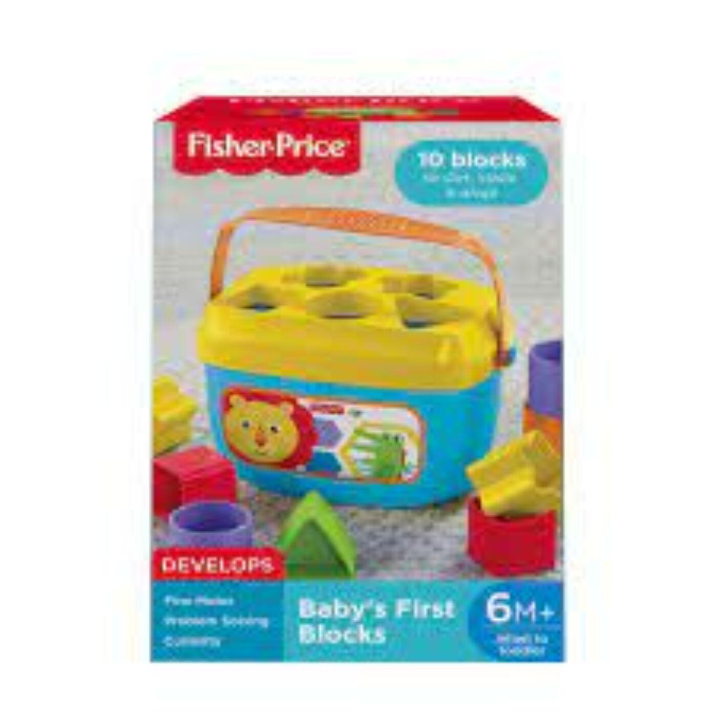 Fisher Price formaválogató dobozka