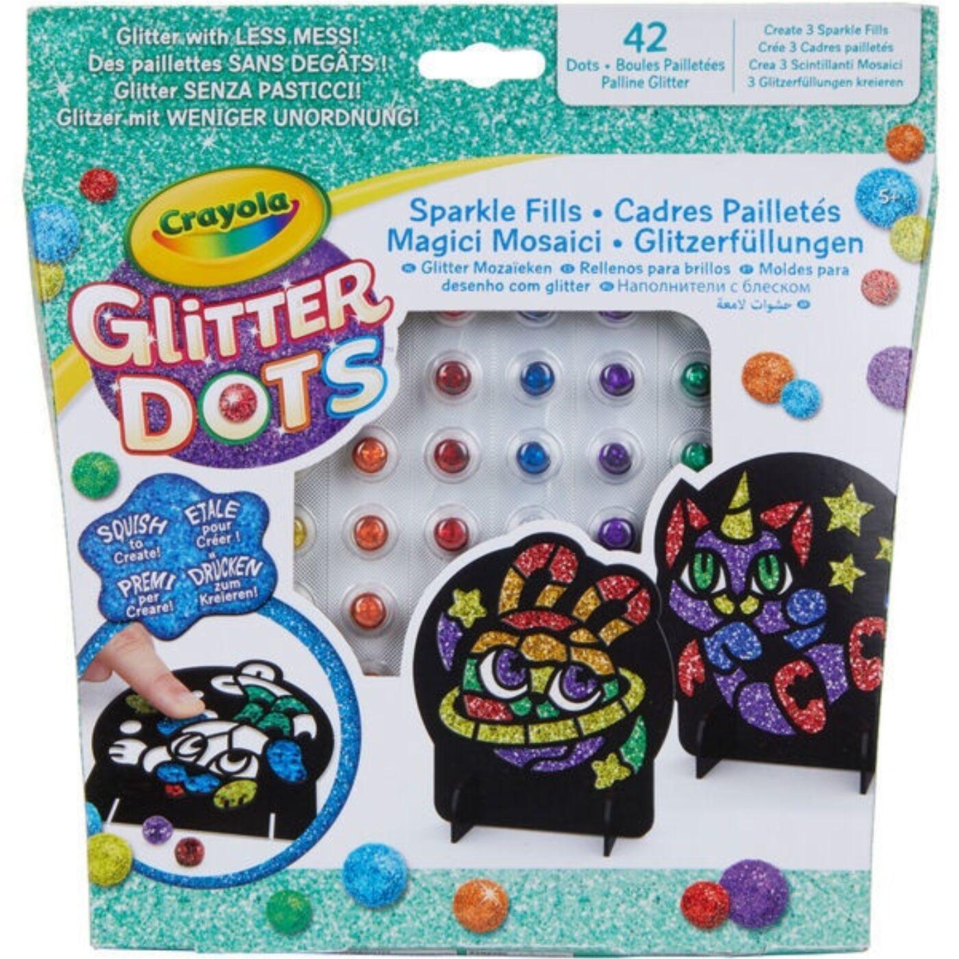 Glitteres Dekorgyöngyök Mozaikkép készlet