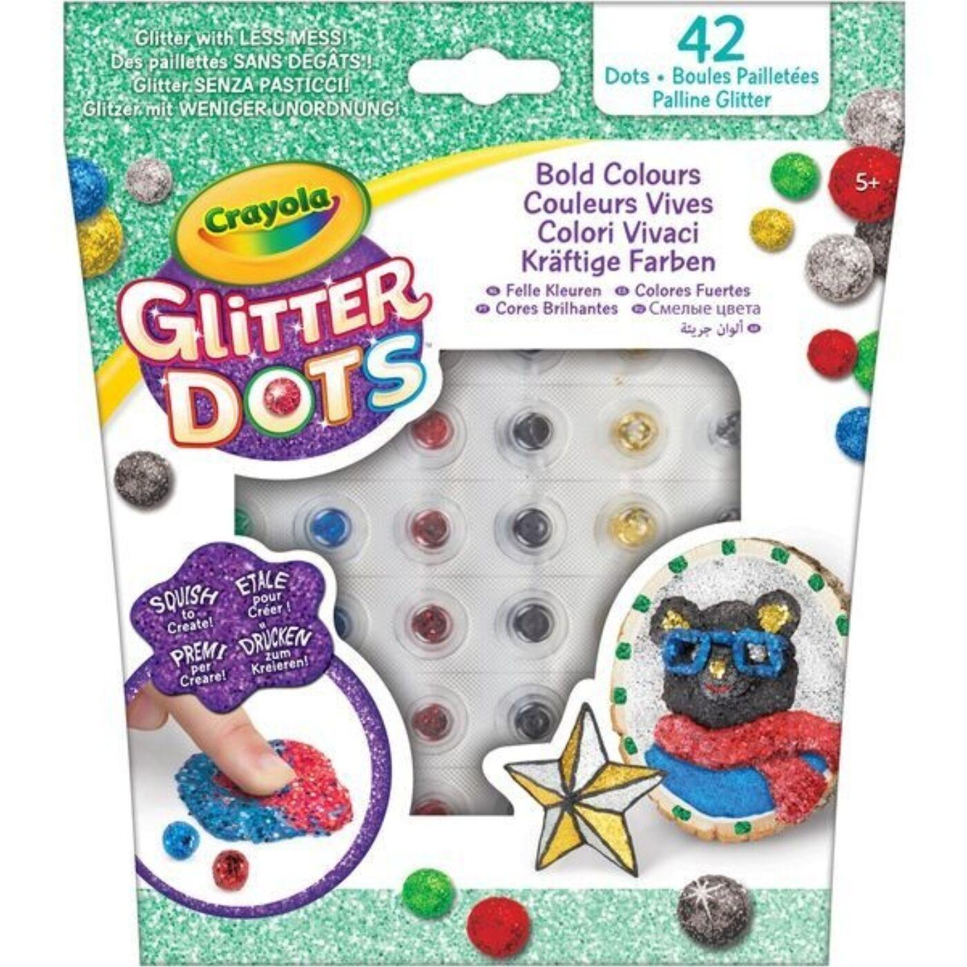 Glitteres Dekorgyöngyök utántöltő készlet