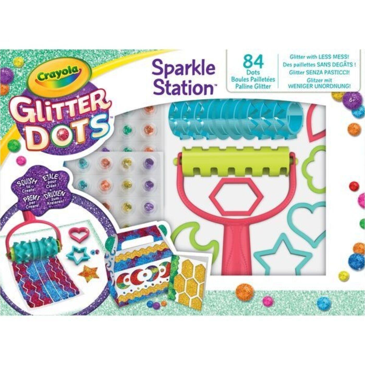 Glitteres Dekorgyöngyök - Kreatív csillámkészlet