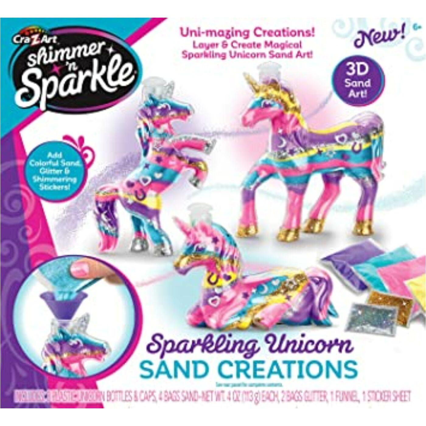 Shimmer and Sparkle Unikornis dekorhomok készítő