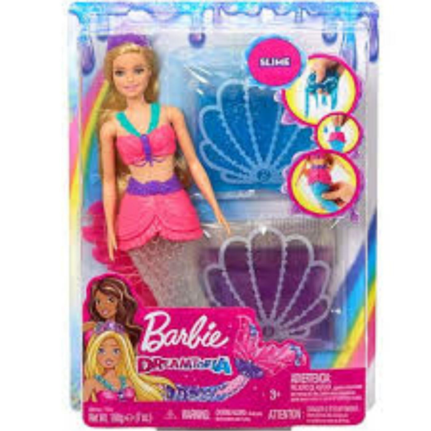 Barbie sellő slime-mal