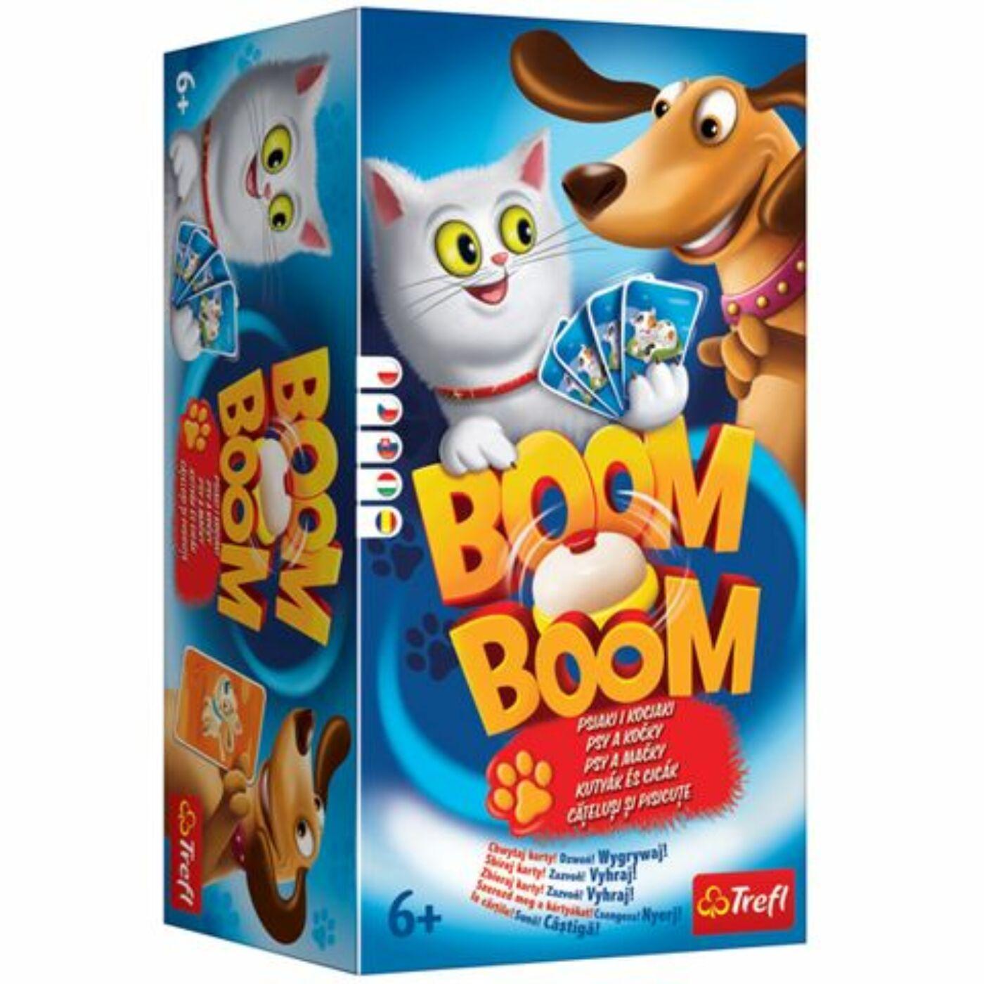 Boom Boom társasjáték - Cicák és kutyák
