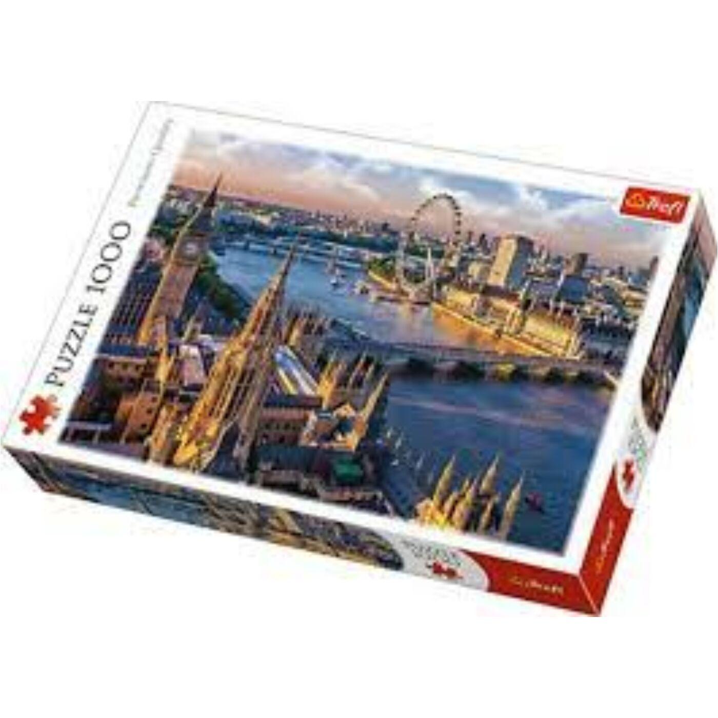 Trefl 1000db-os puzzle - London