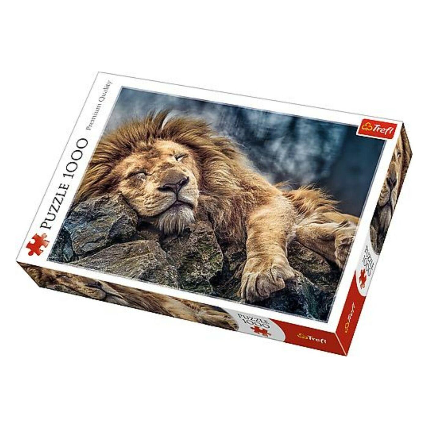 Trefl 1000db-os puzzle - Alvó oroszlán