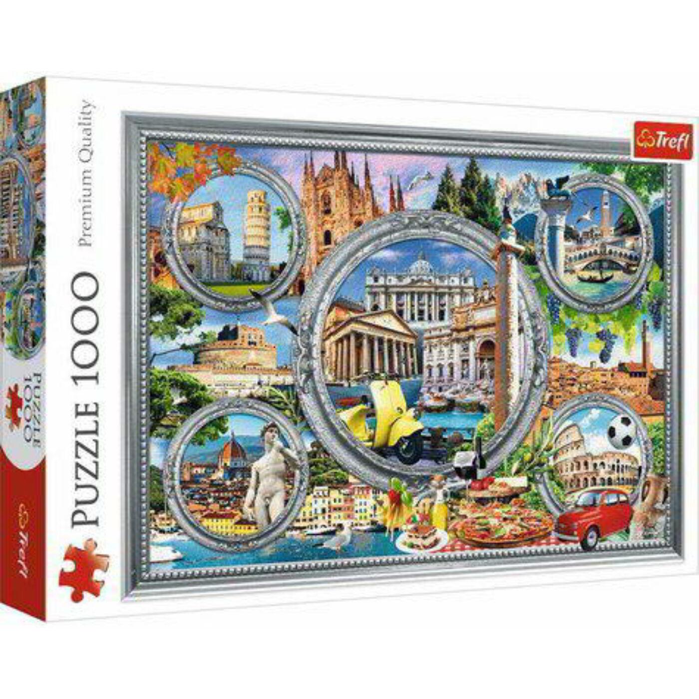 Trefl 1000db-os puzzle - Olasz körtúra