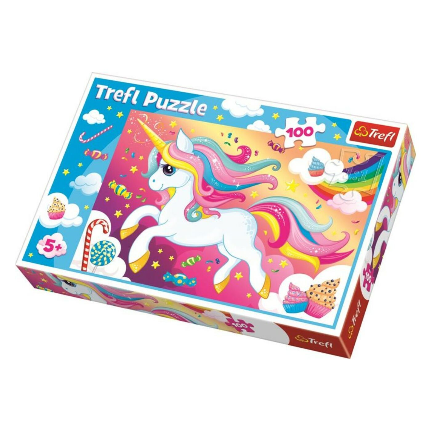 Trefl 100 db-os puzzle - Unikornis