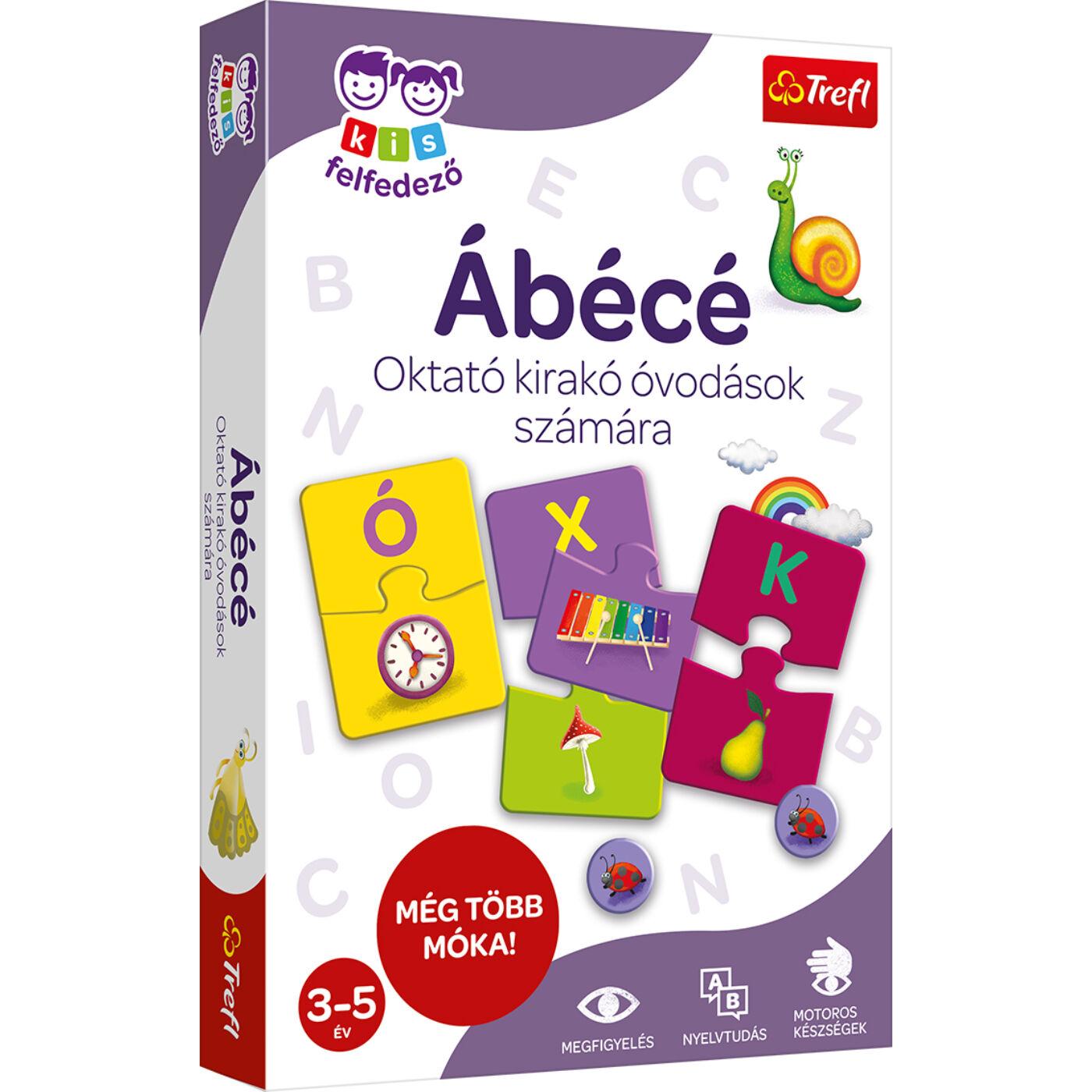 Kis felfedező oktató társasjáték - ABC