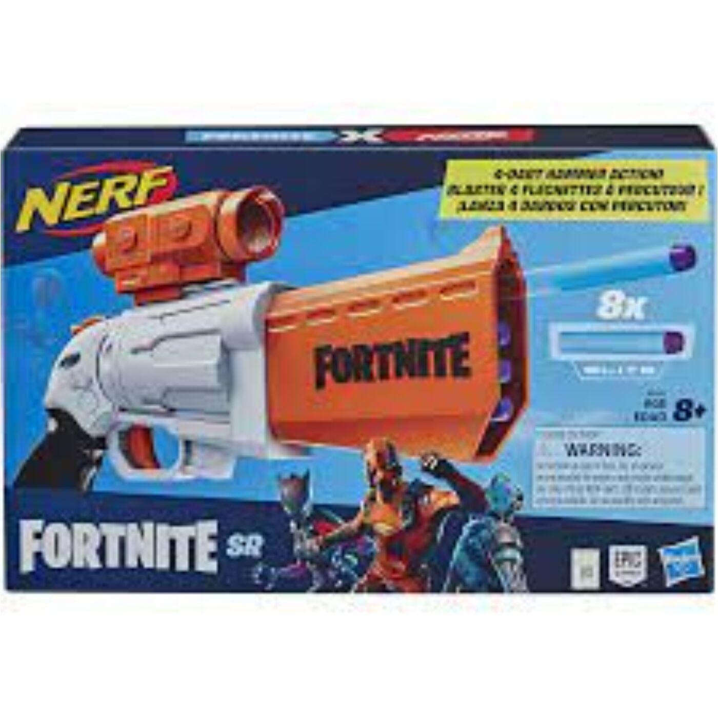 Nerf Fortnite SR kilövő