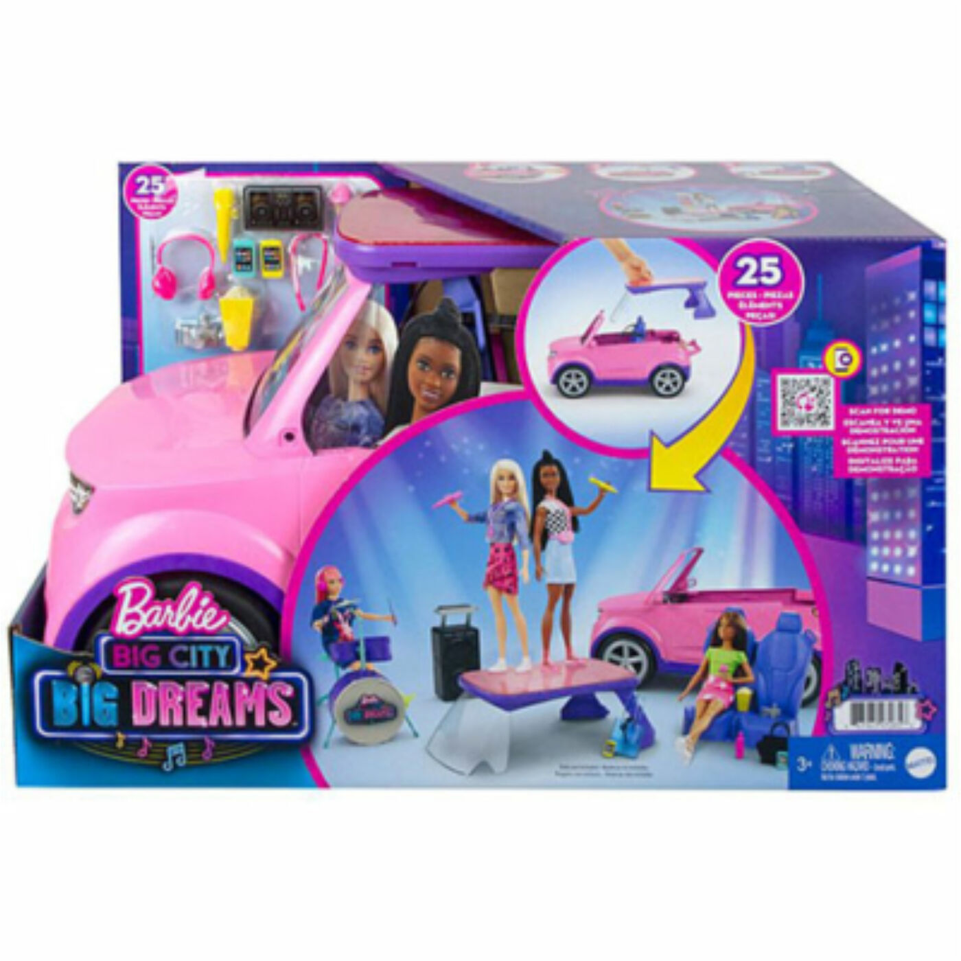 Barbie Big City Guruló színpad