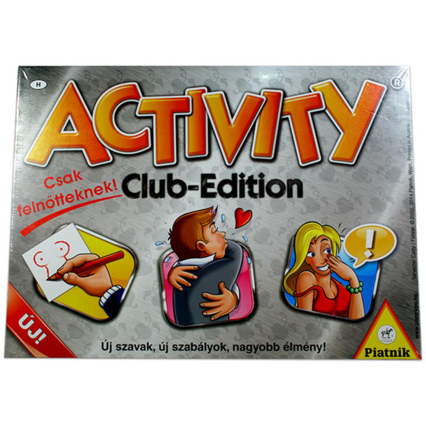 Activity felnőtt