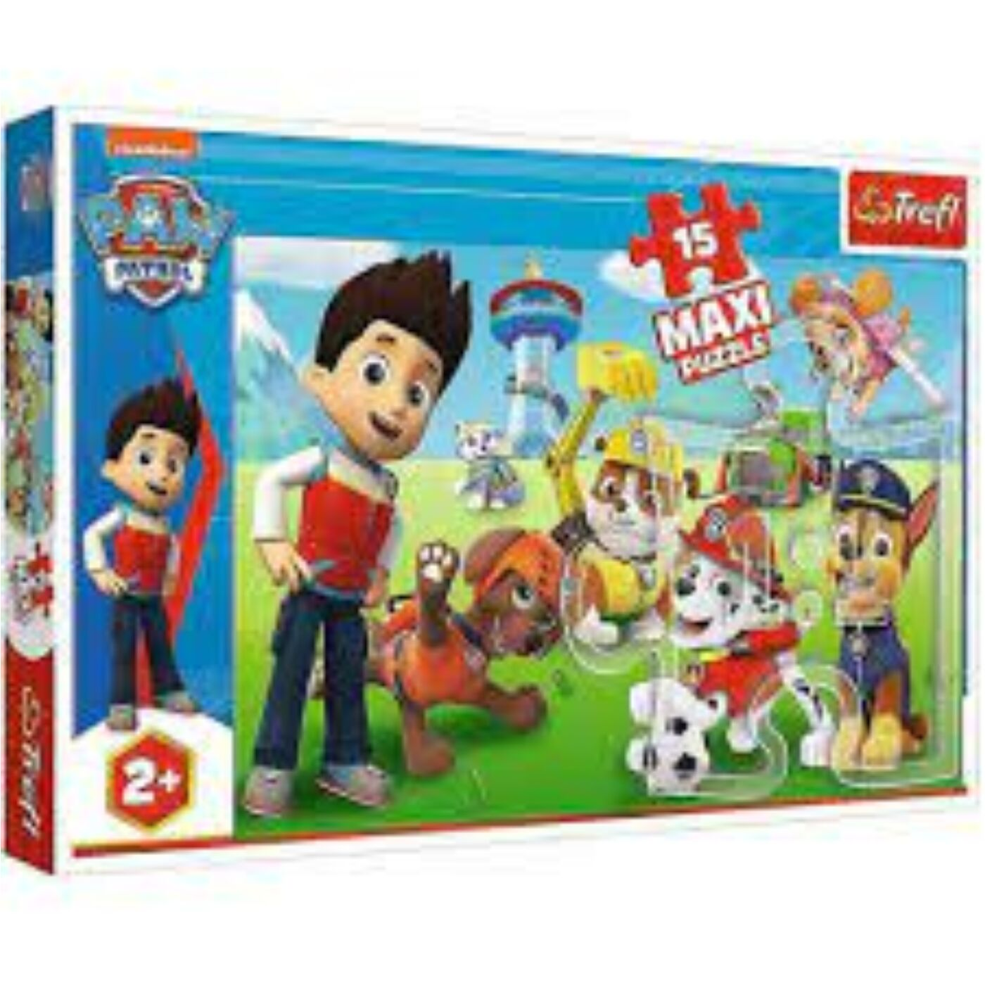 15 db-os Maxi puzzle - Mancs őrjárat