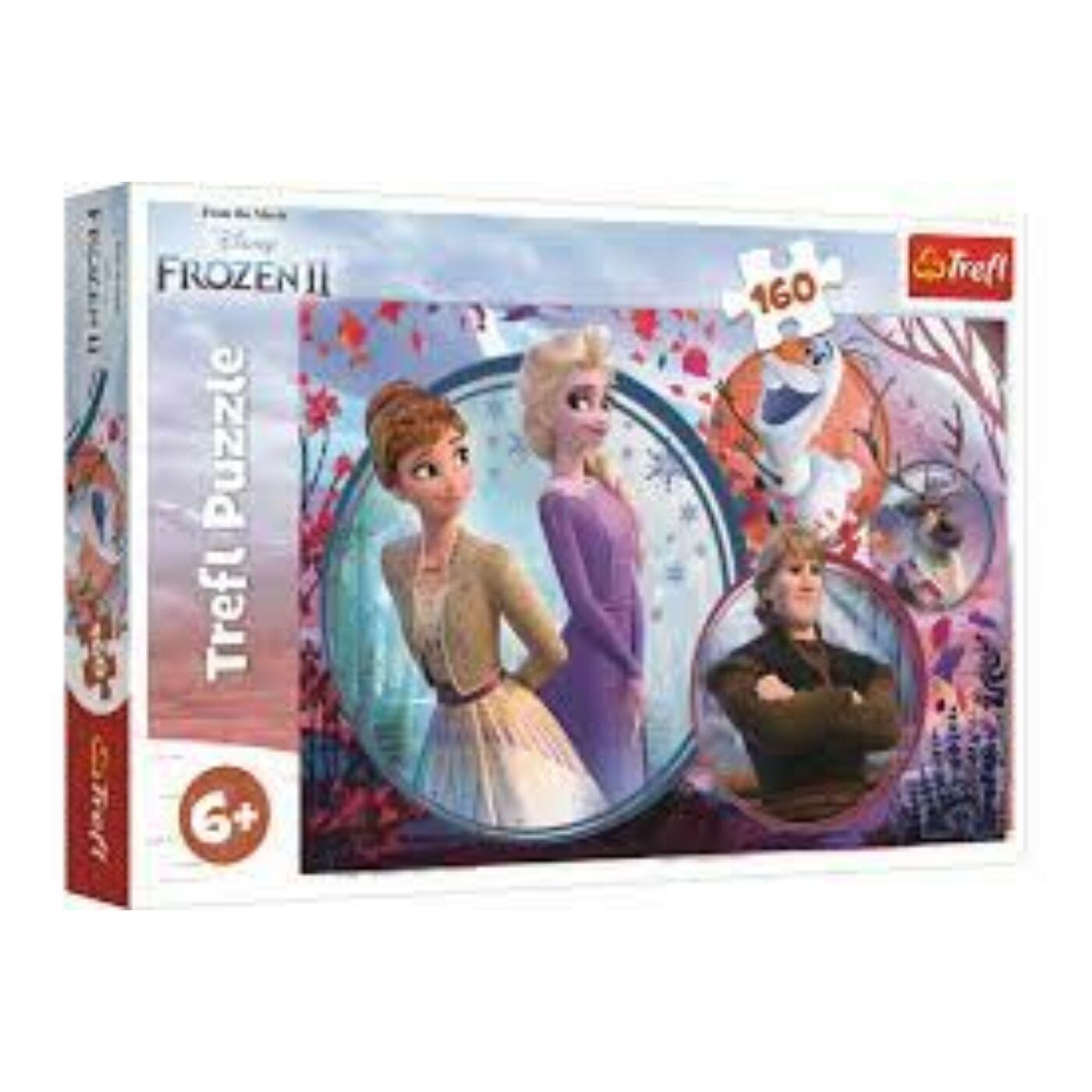 160db-os puzzle - Jégvarázs 2 - Nővérek kalandja