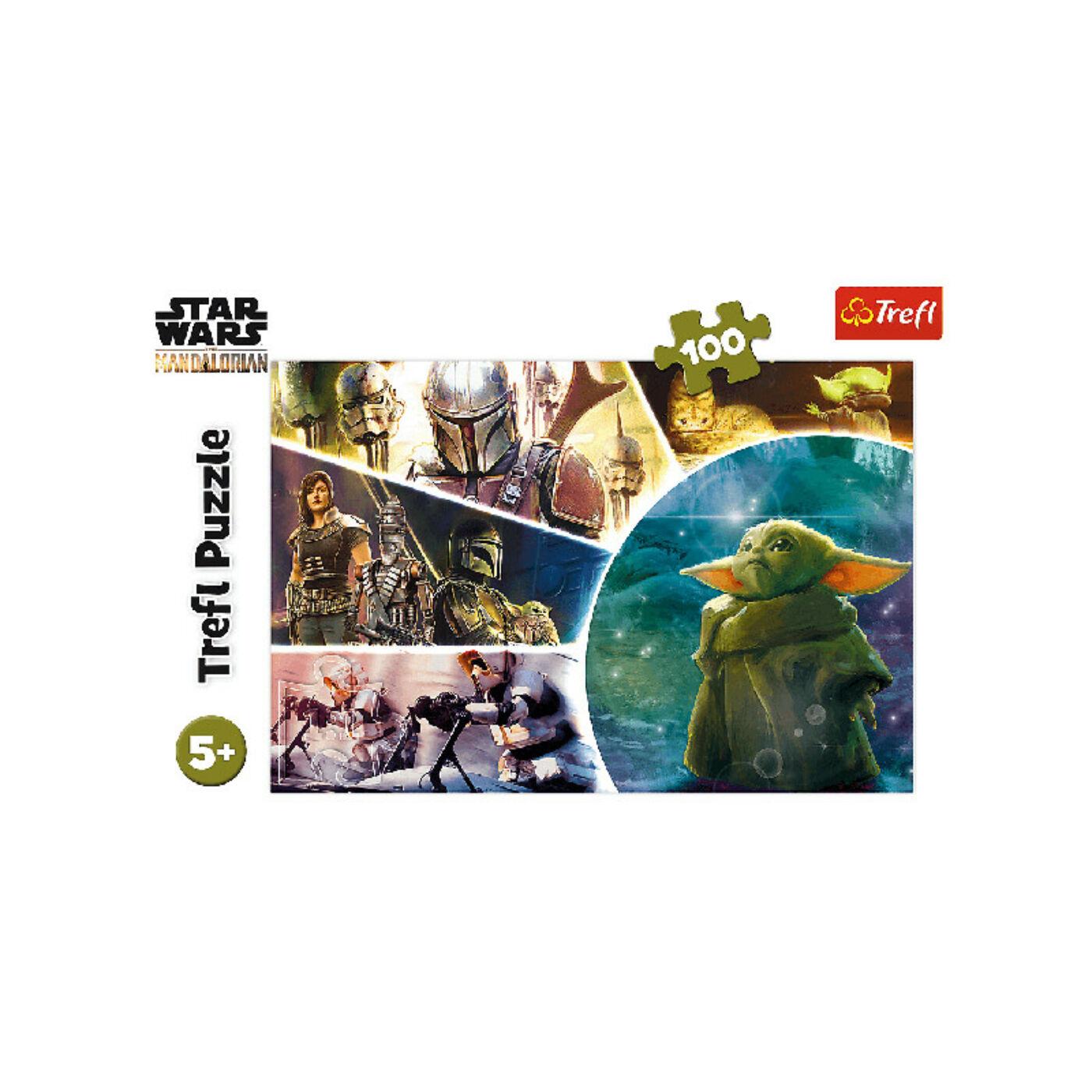 100 db-os puzzle-Star Wars