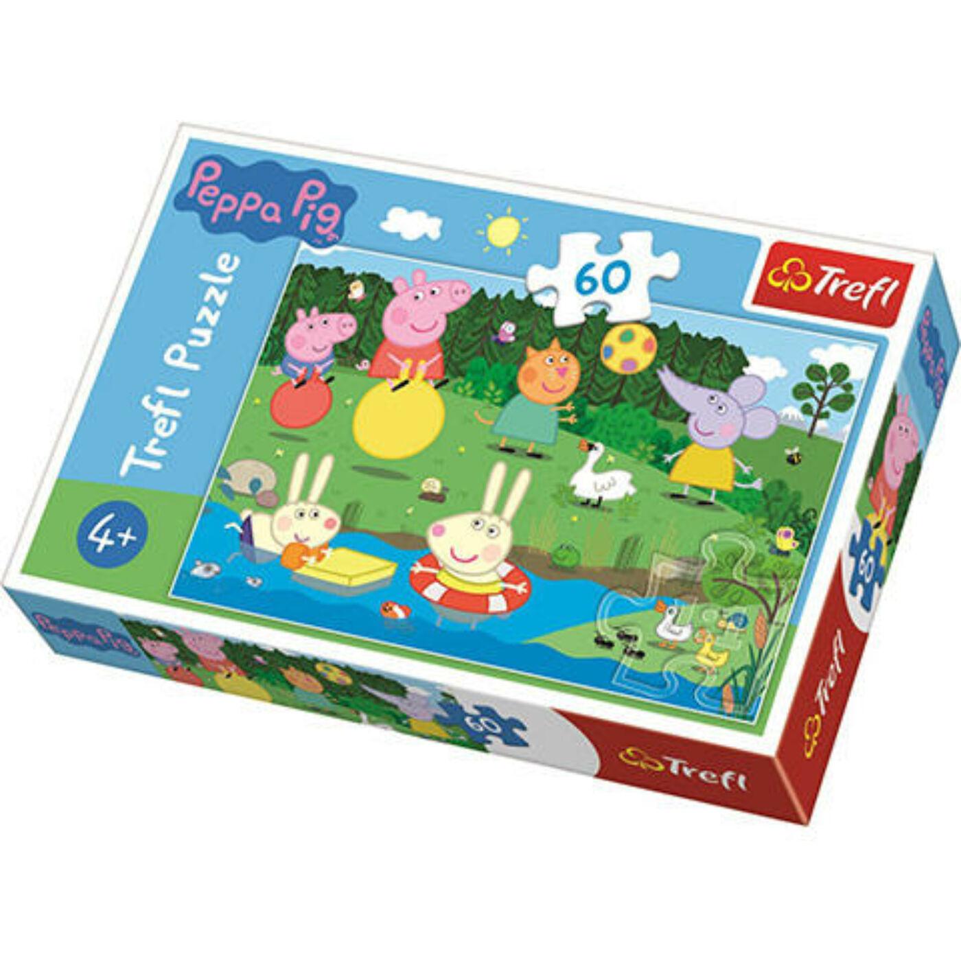 60db-os puzzle - Peppa malac