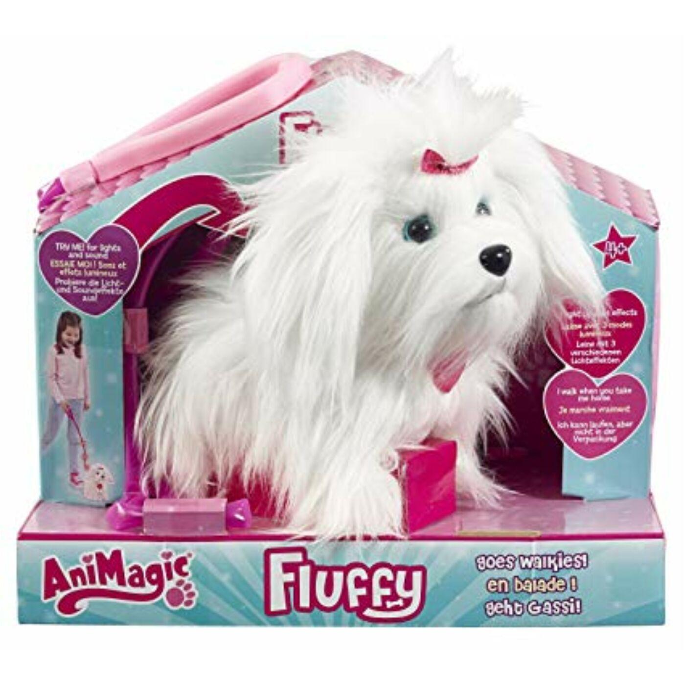 Fluffy a sétáló szőrgombóc