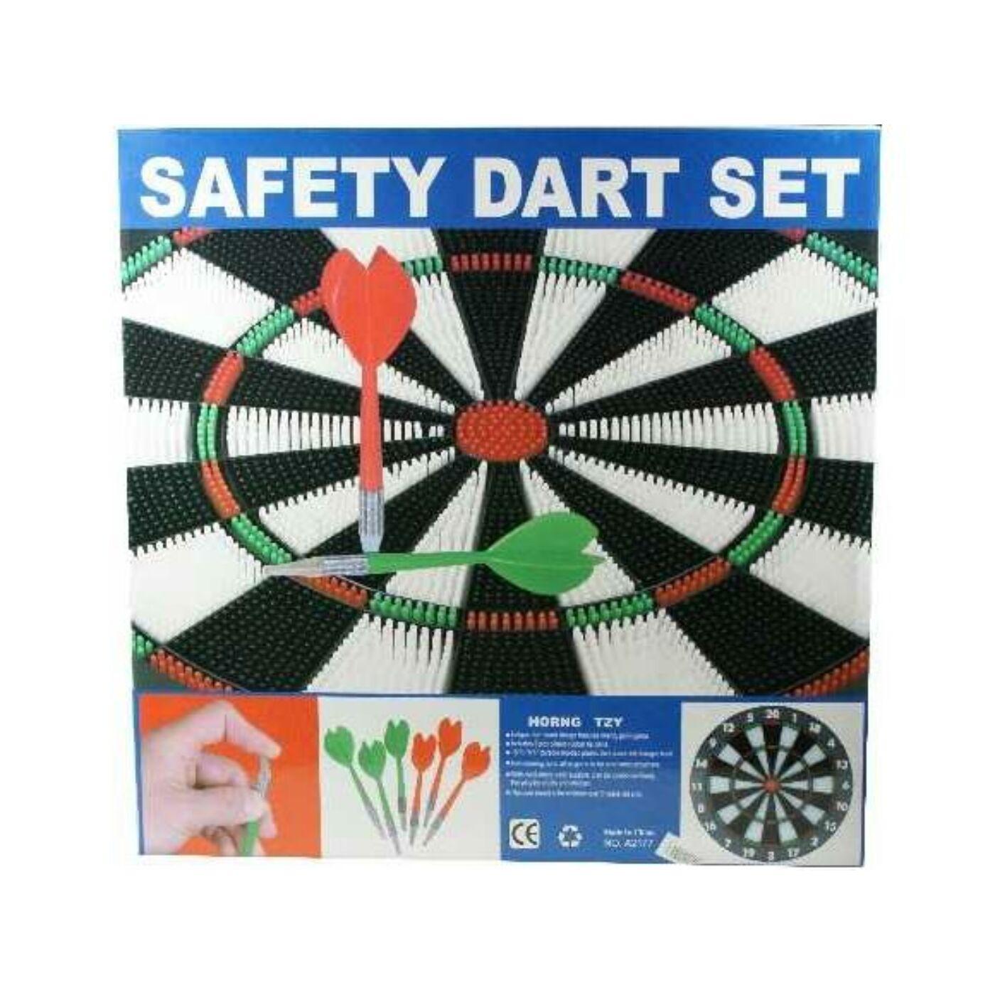 Safety darts tüskés