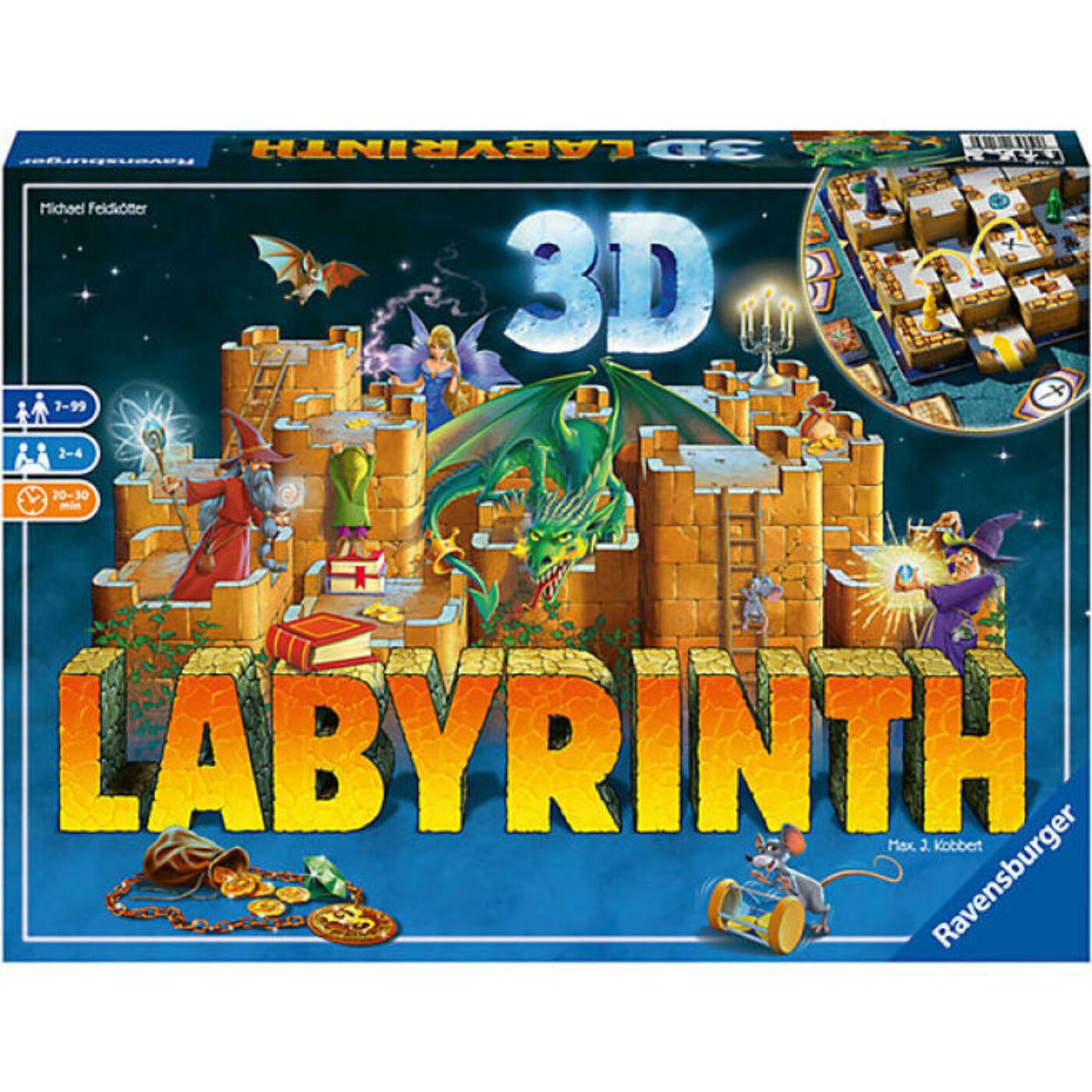 Labirintus társasjáték 3D