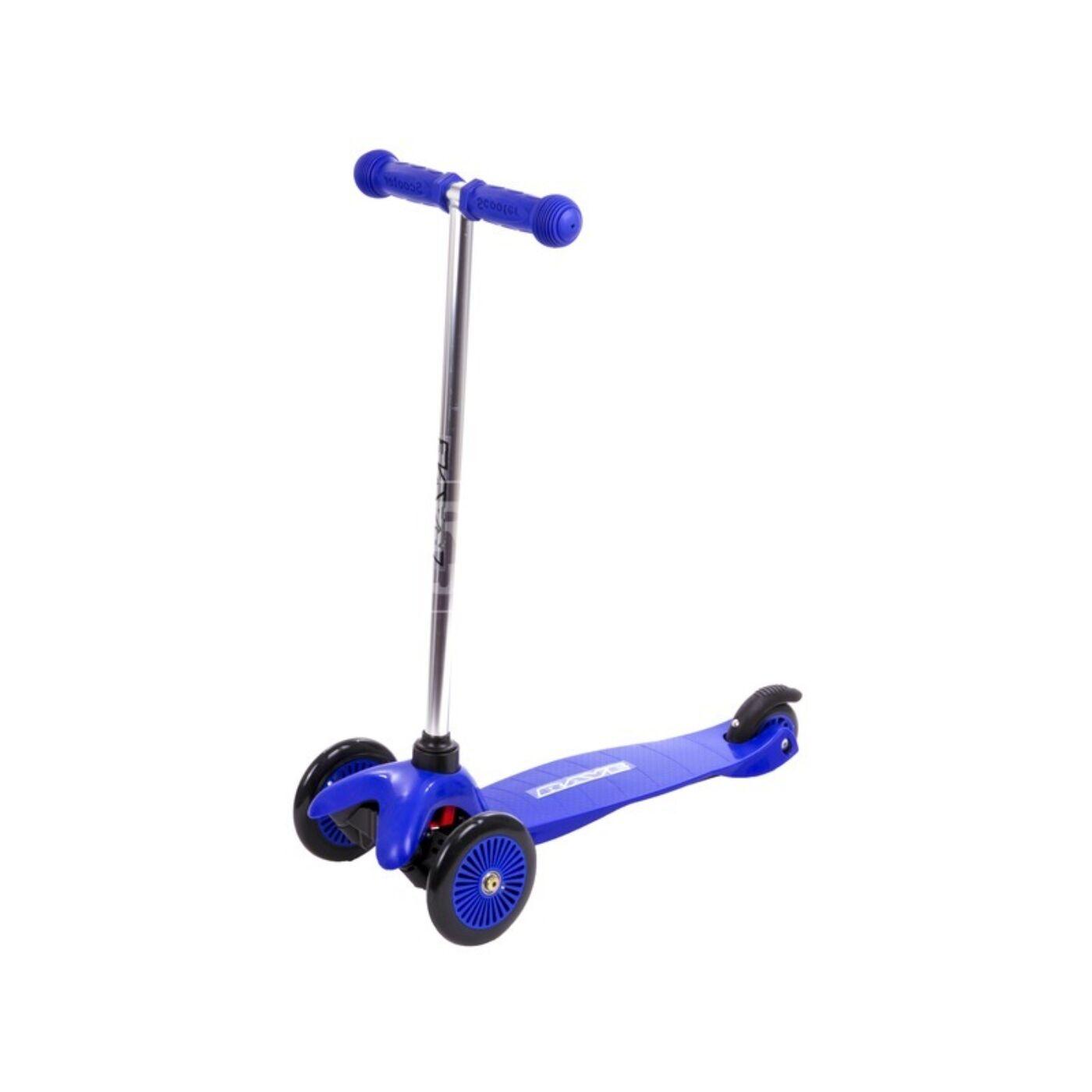 Háromkerekű roller kék
