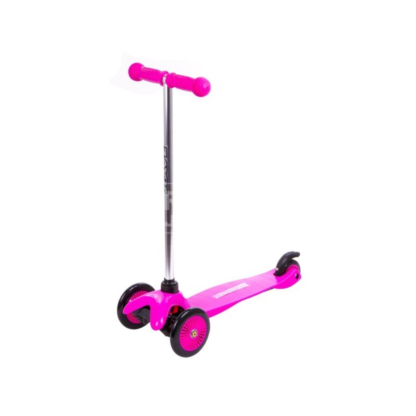Háromkerekű roller rózsaszín
