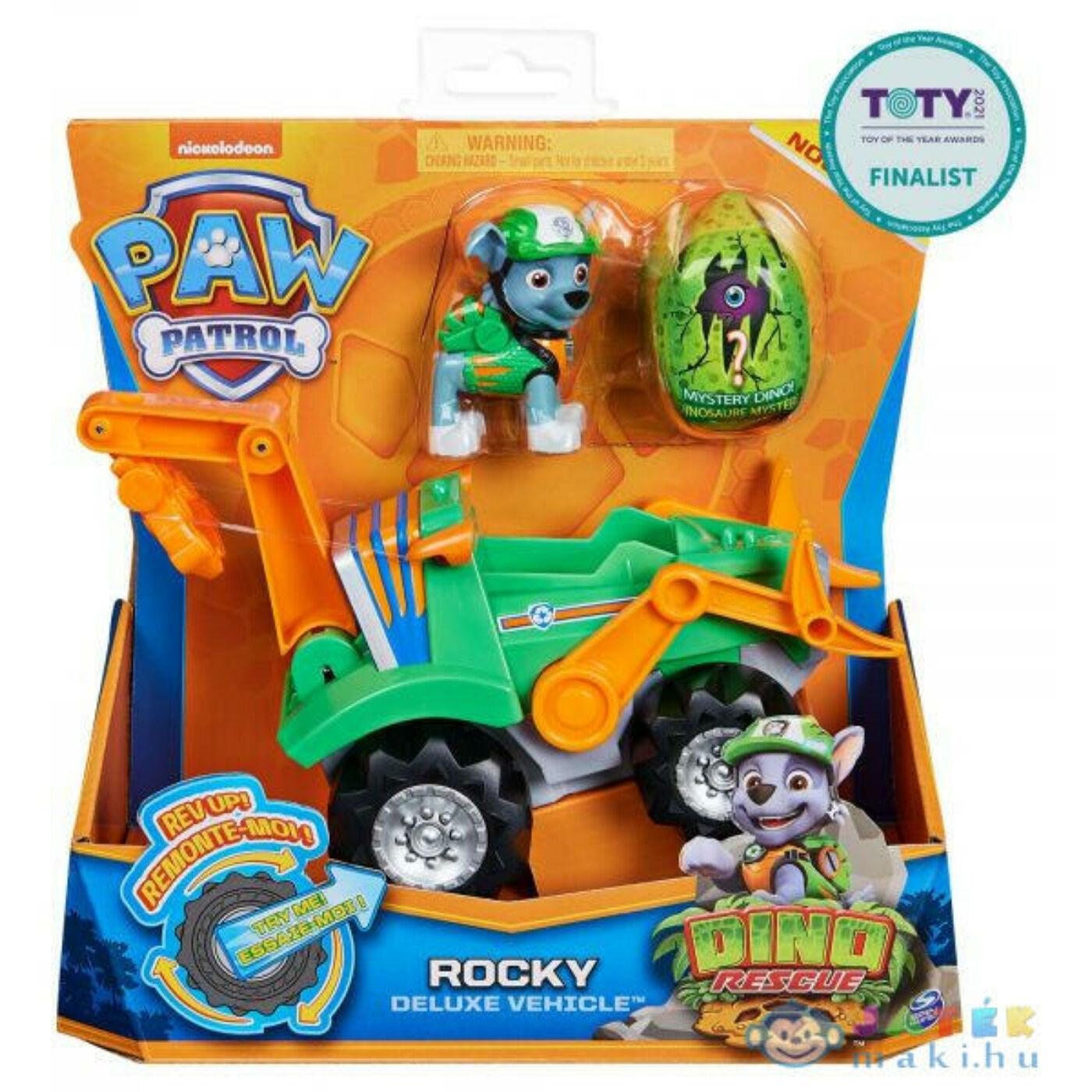 Mancs őrjárat Dínó Rescue-Rocky
