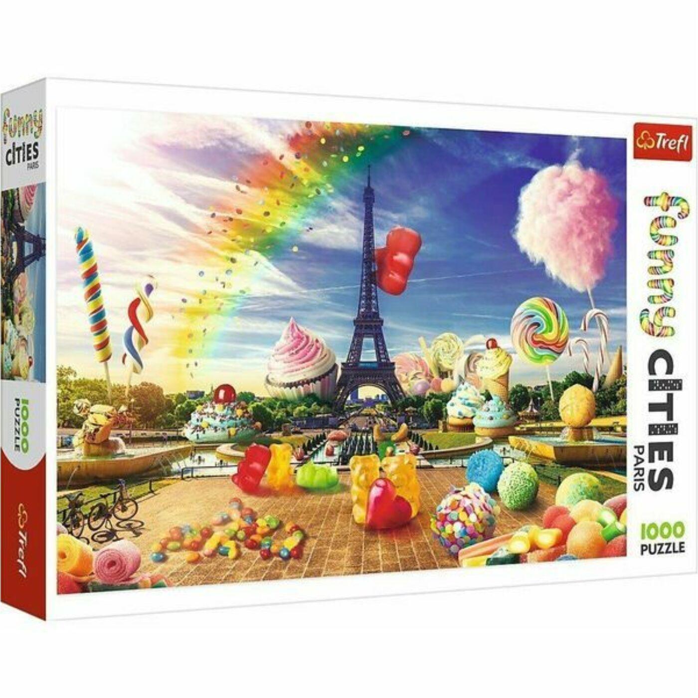 Trefl 1000db-os puzzle - Édes Párizs
