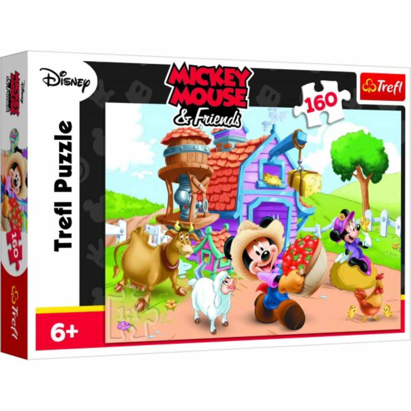 Trefl 160 db-os puzzle - Mickey, a farmer