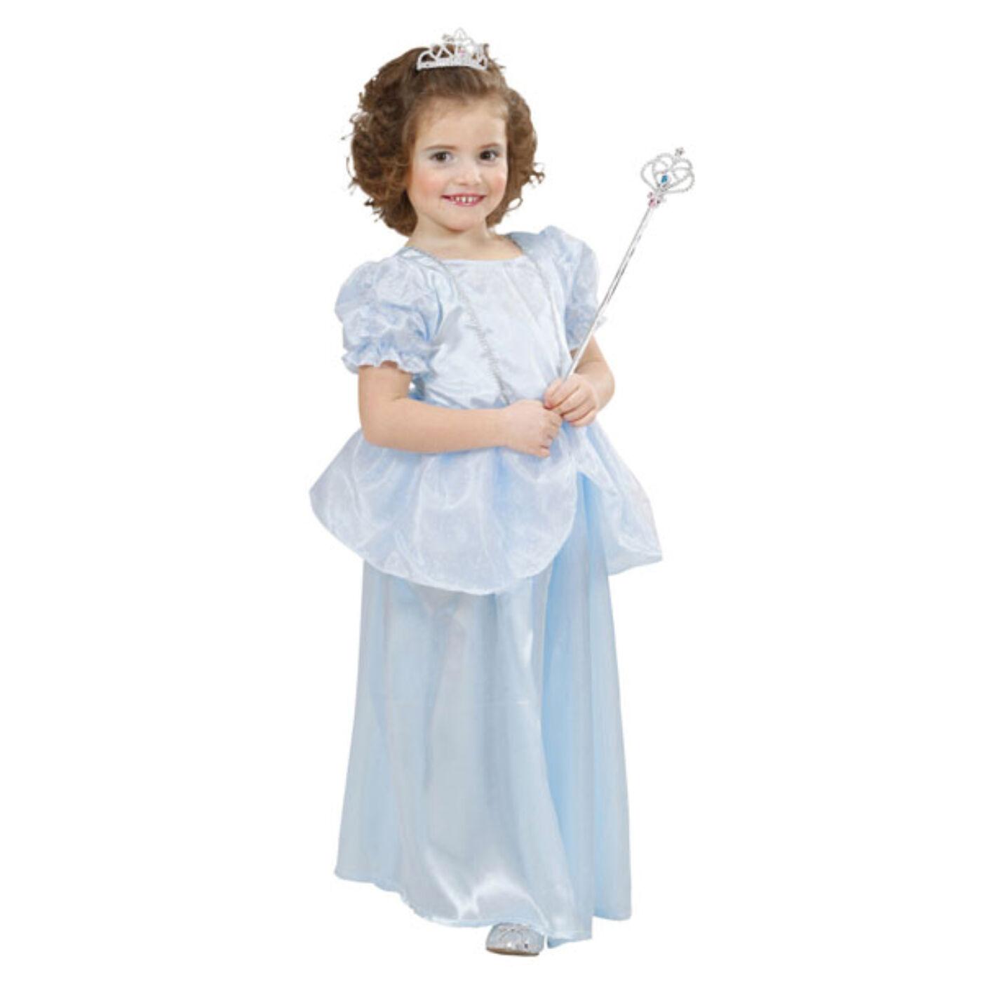 Kék hercegnő jelmez 110-es