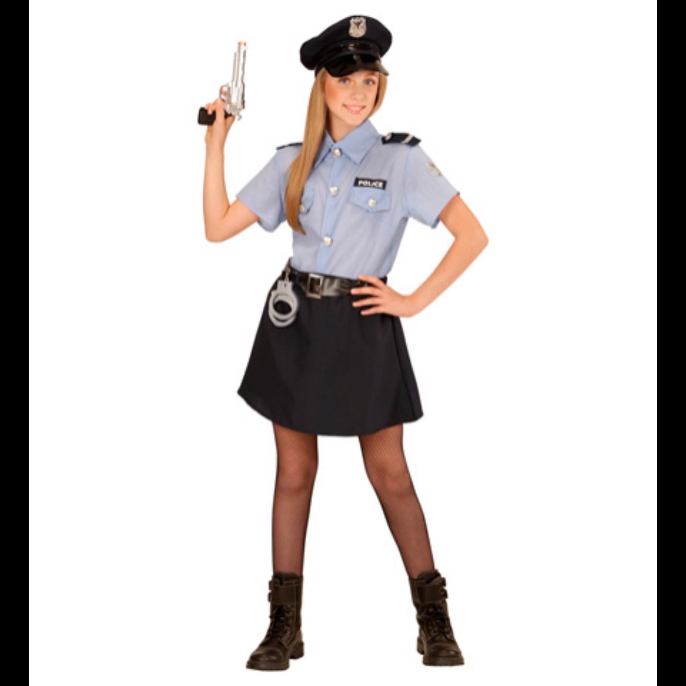 Rendőrlány jelmez 140-es