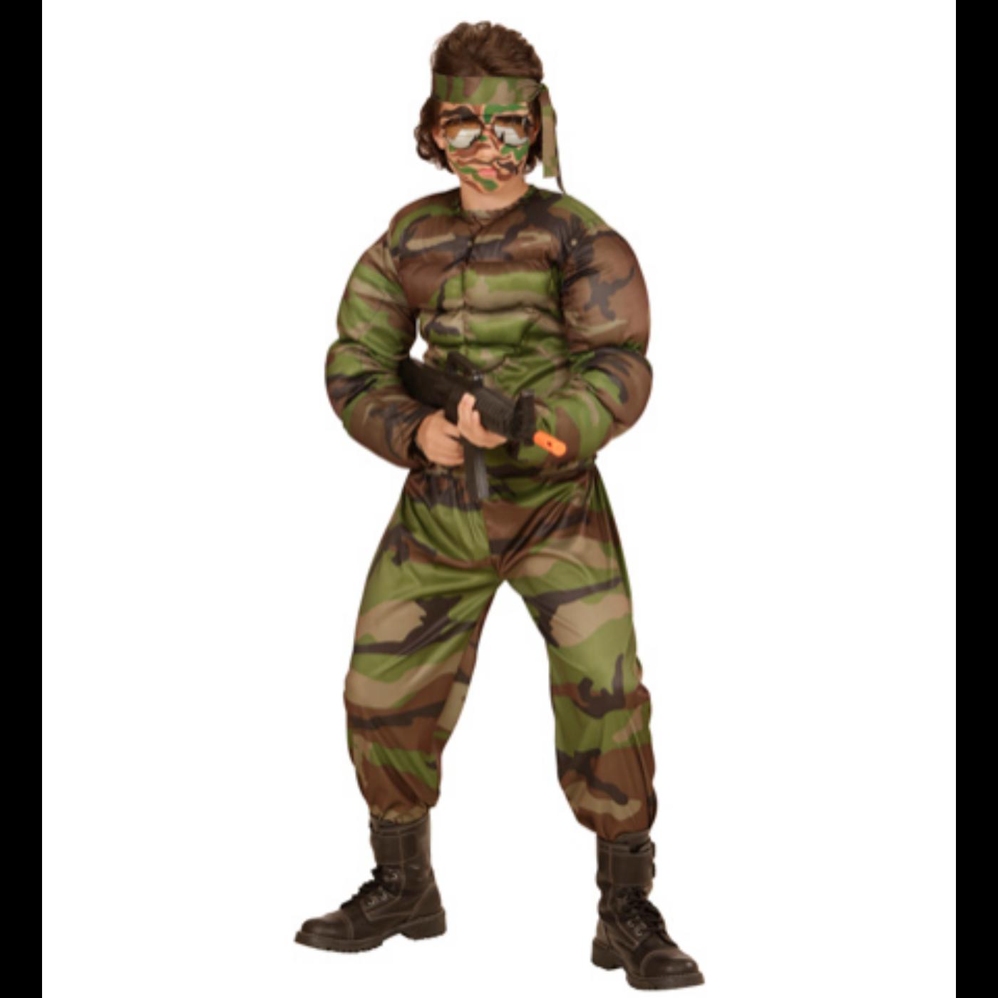 Szuper katona jelmez 158-as