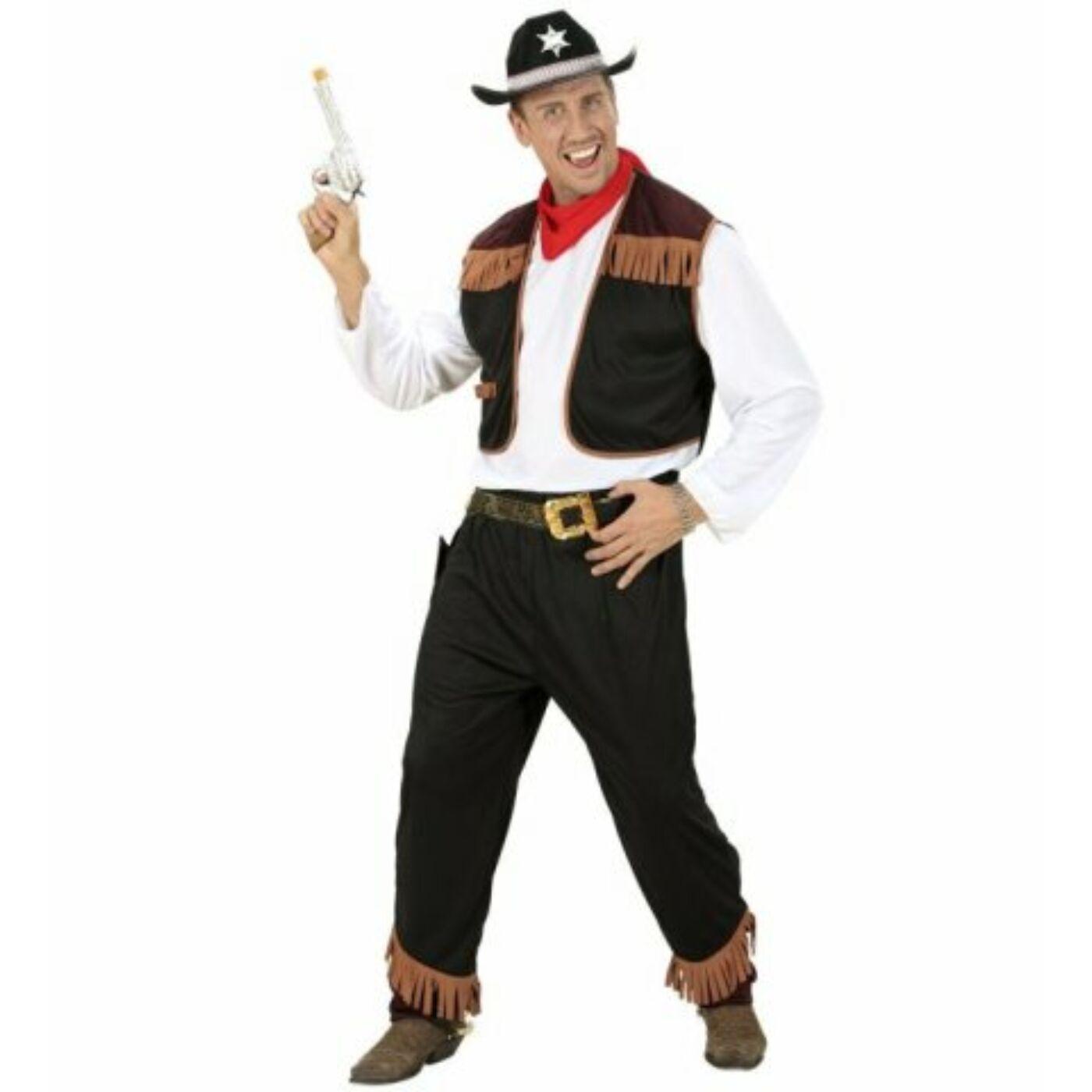 Cowboy jelmez M-es
