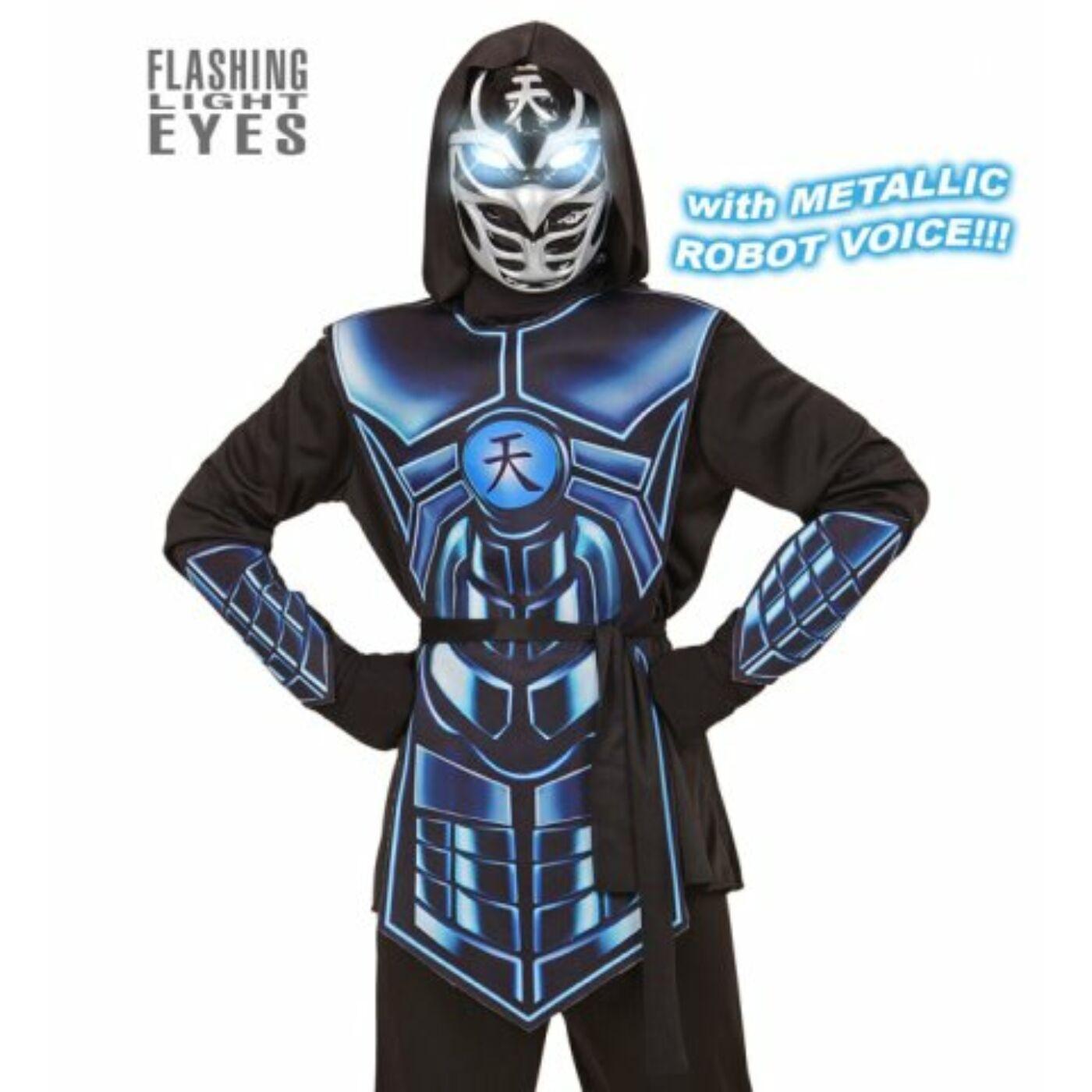 Cyber ninja jelmez 128-as