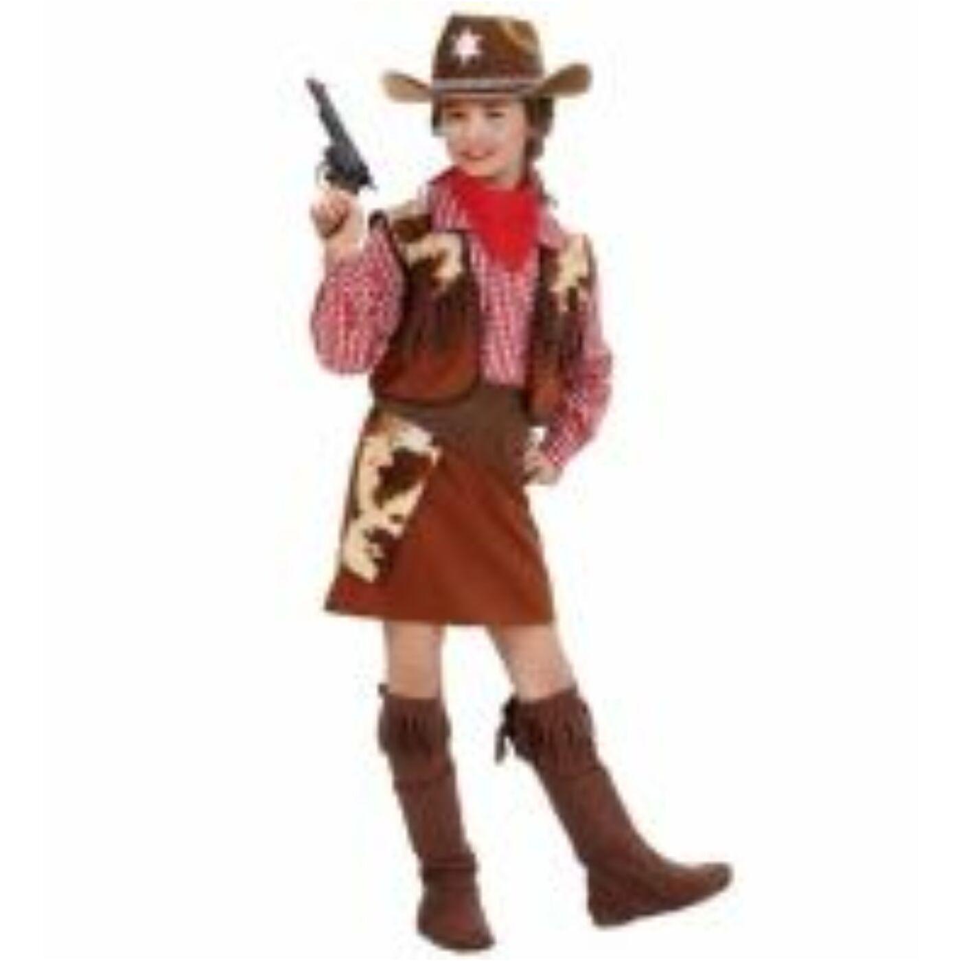 Cowgirl jelmez 140-es