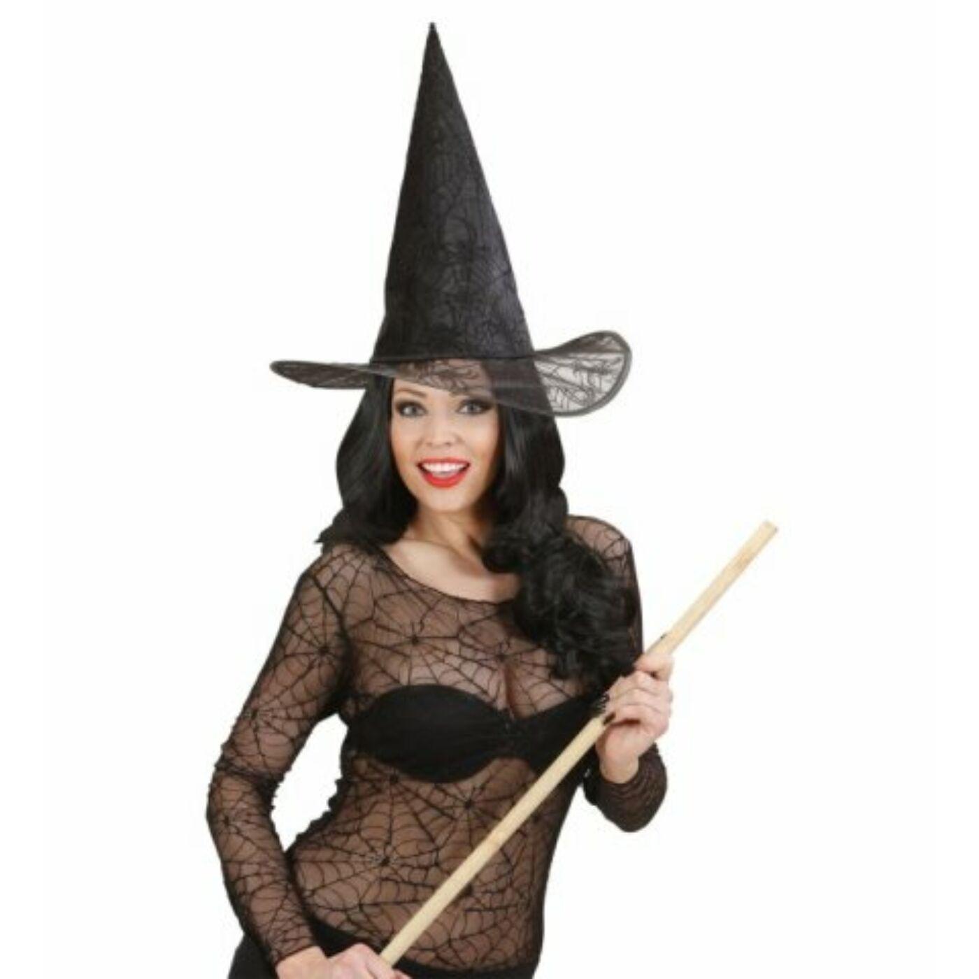 Csillámos boszorkány kalap