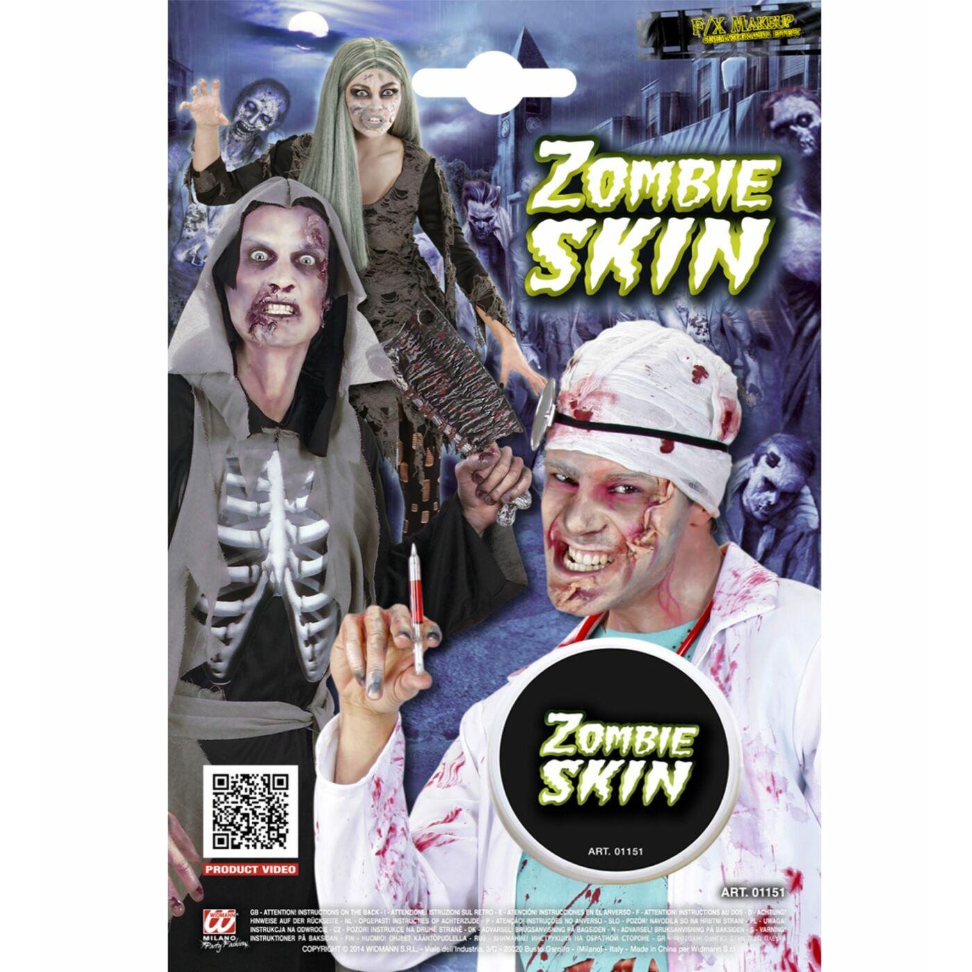 Zombie arcfesték