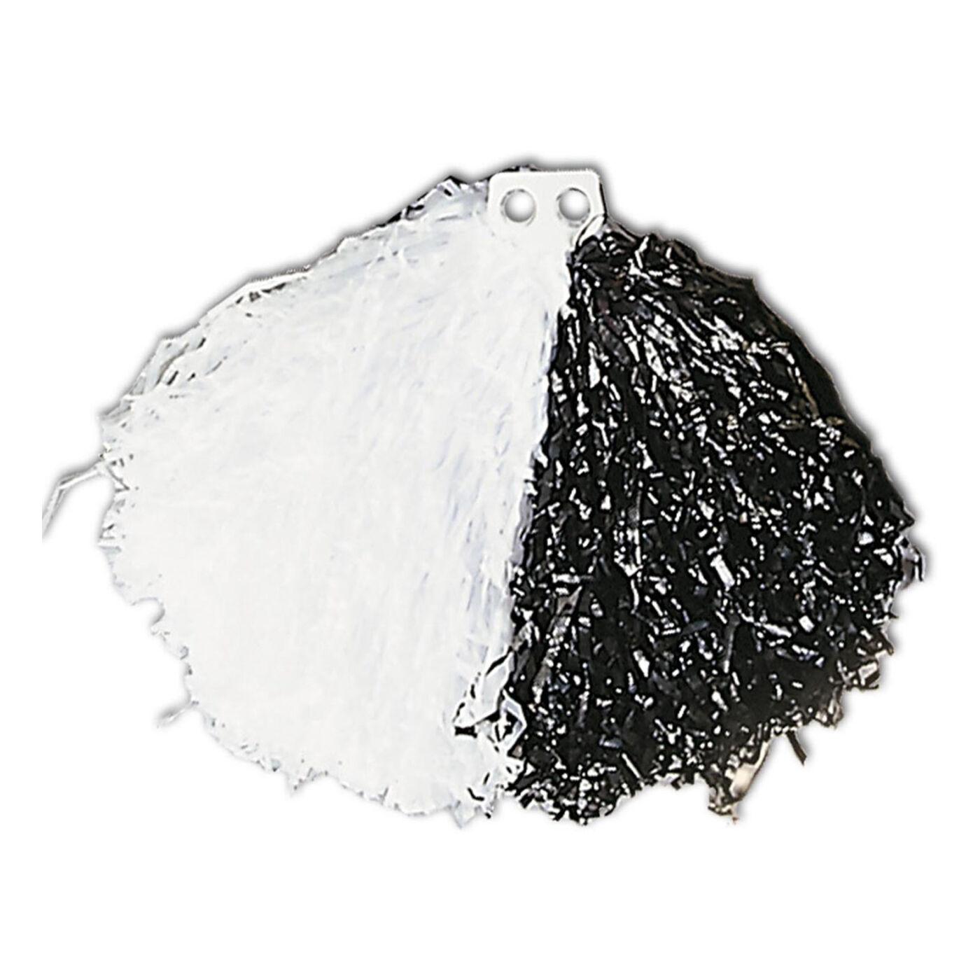 Pompom fekete-fehér