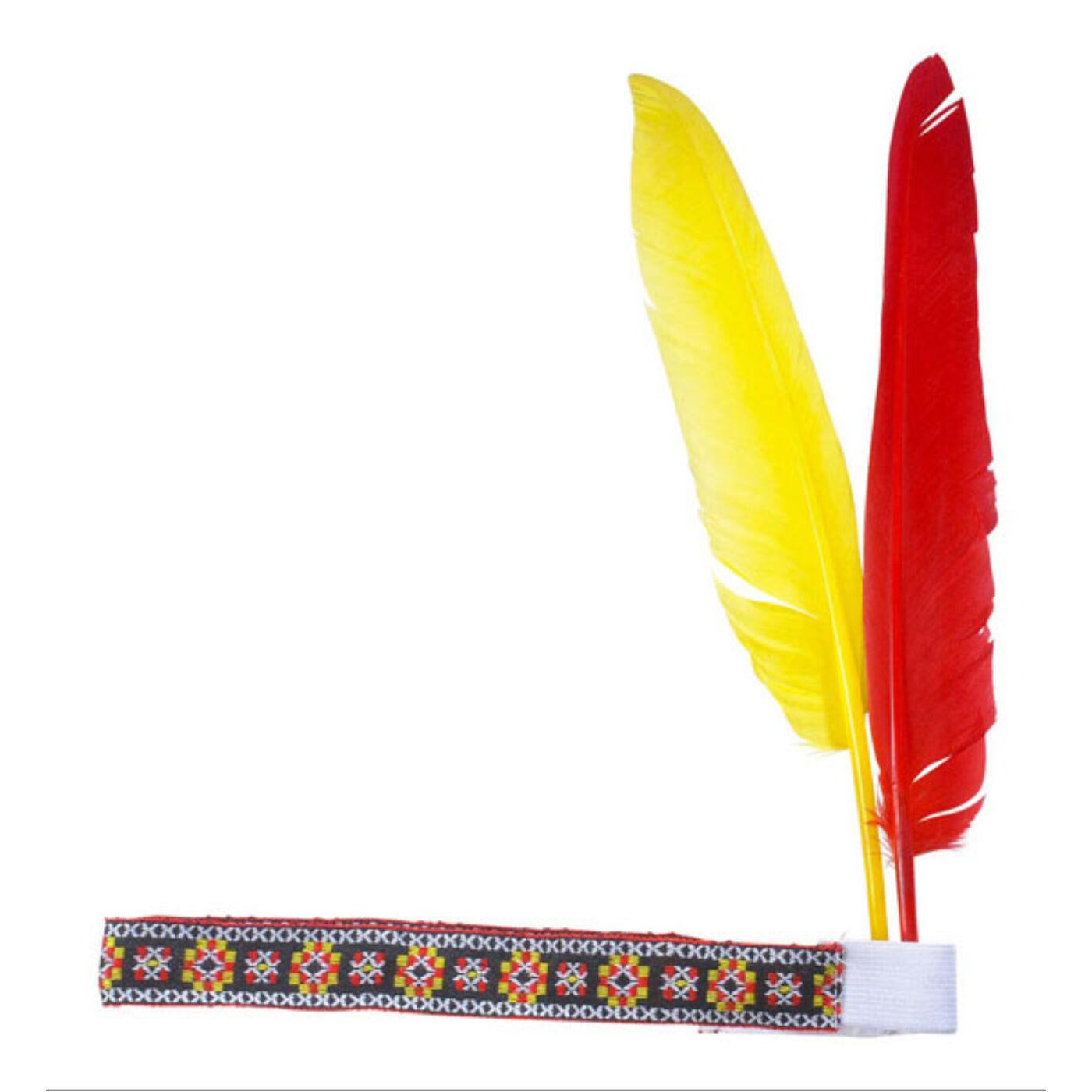 Natív indián fejdísz