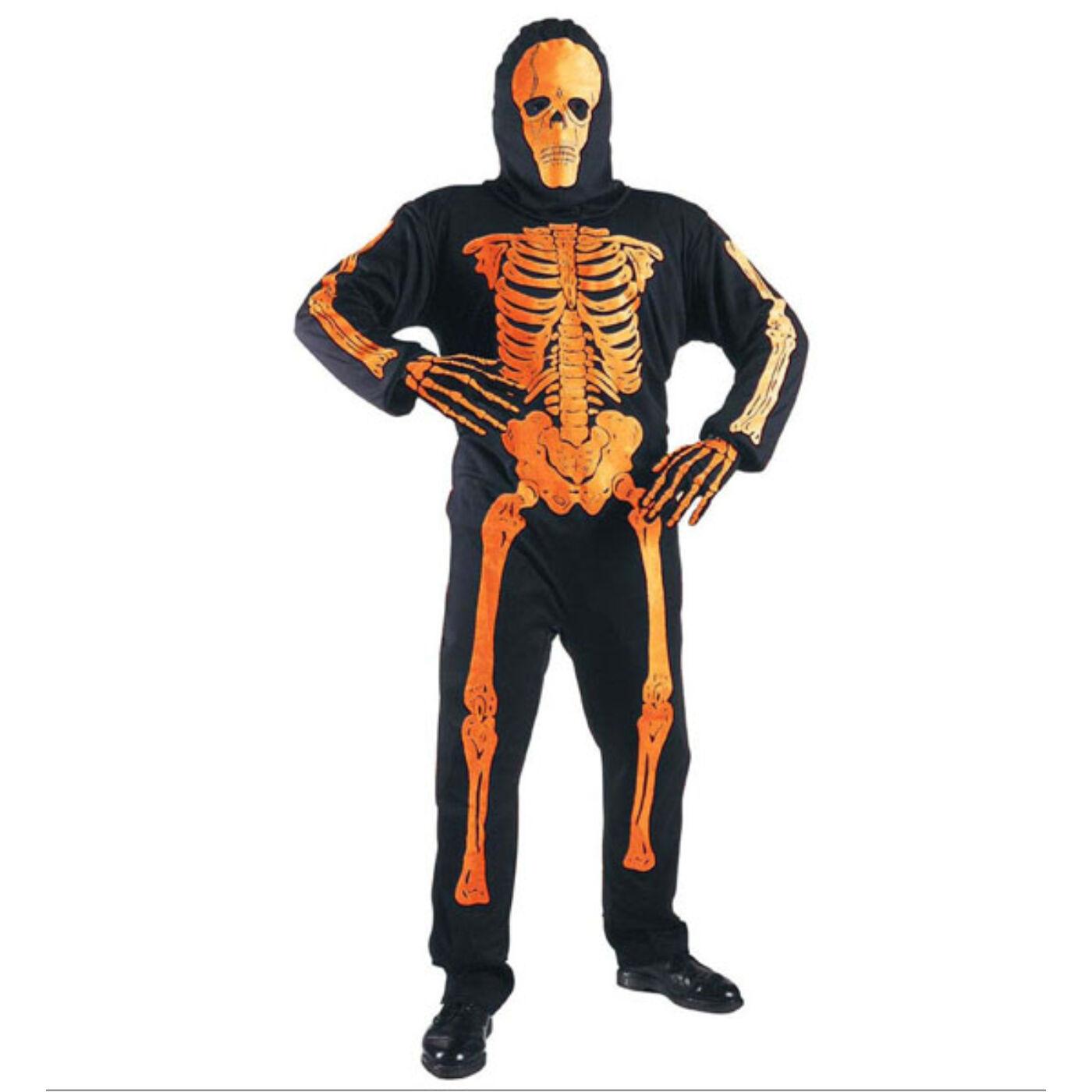 Neon csontváz jelmez 128-as