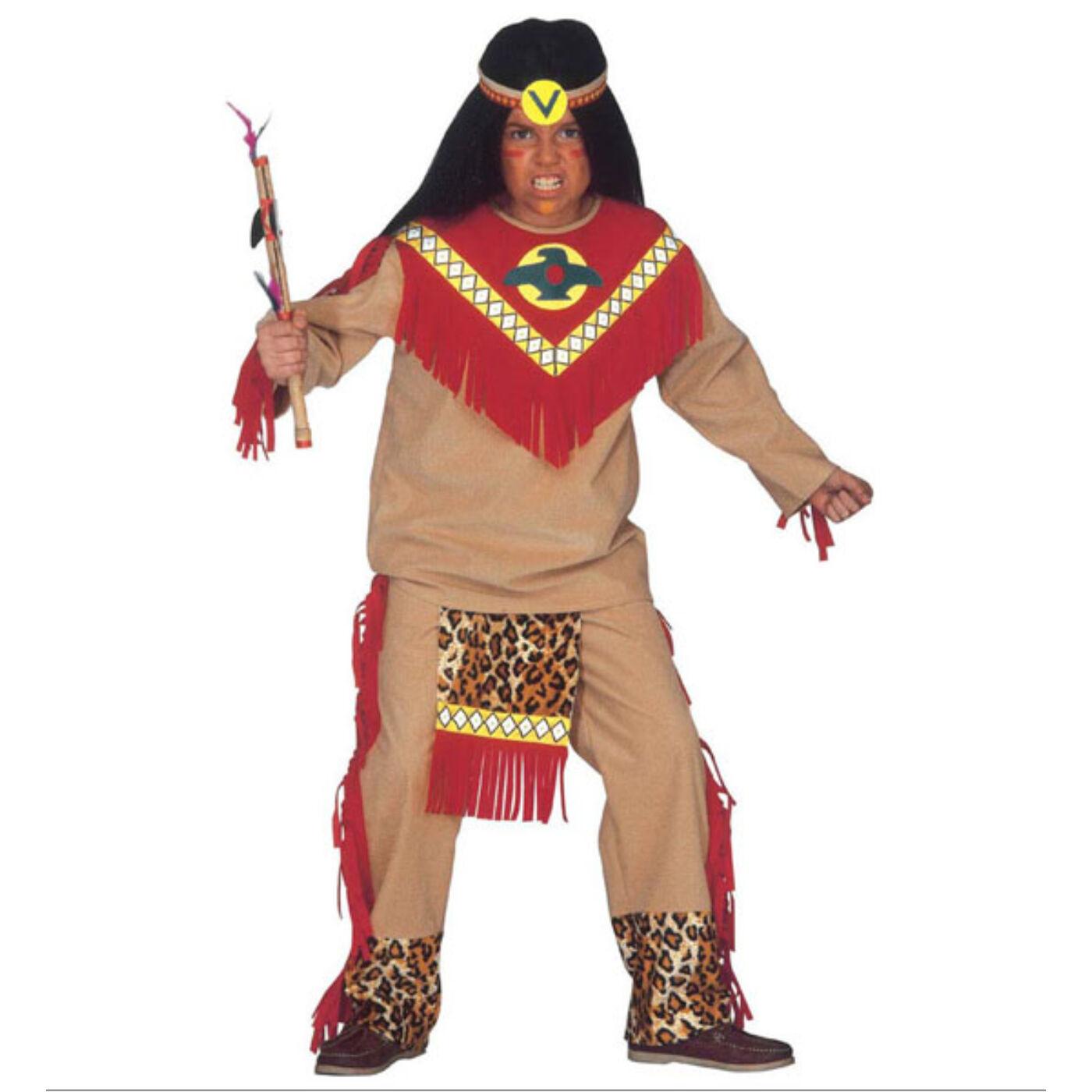 Indiánfiú jelmez 140-es