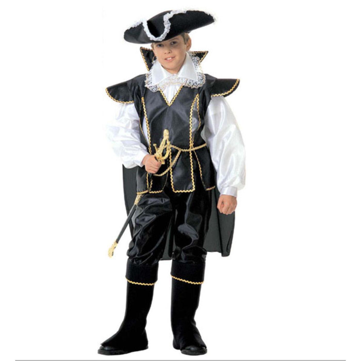 Fekete kapitány Jelmez 158-as