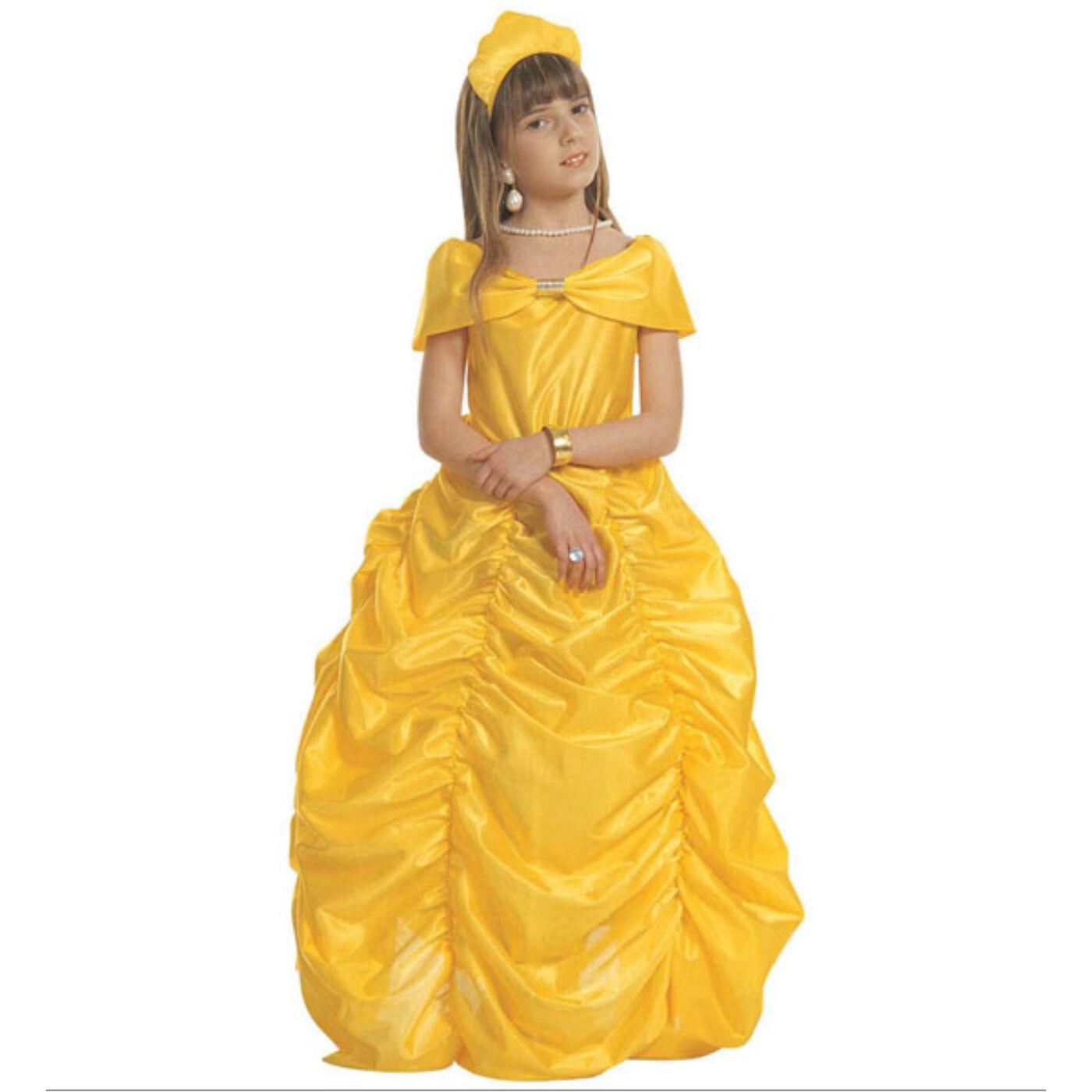 Sárga hercegnő jelmez 158-as