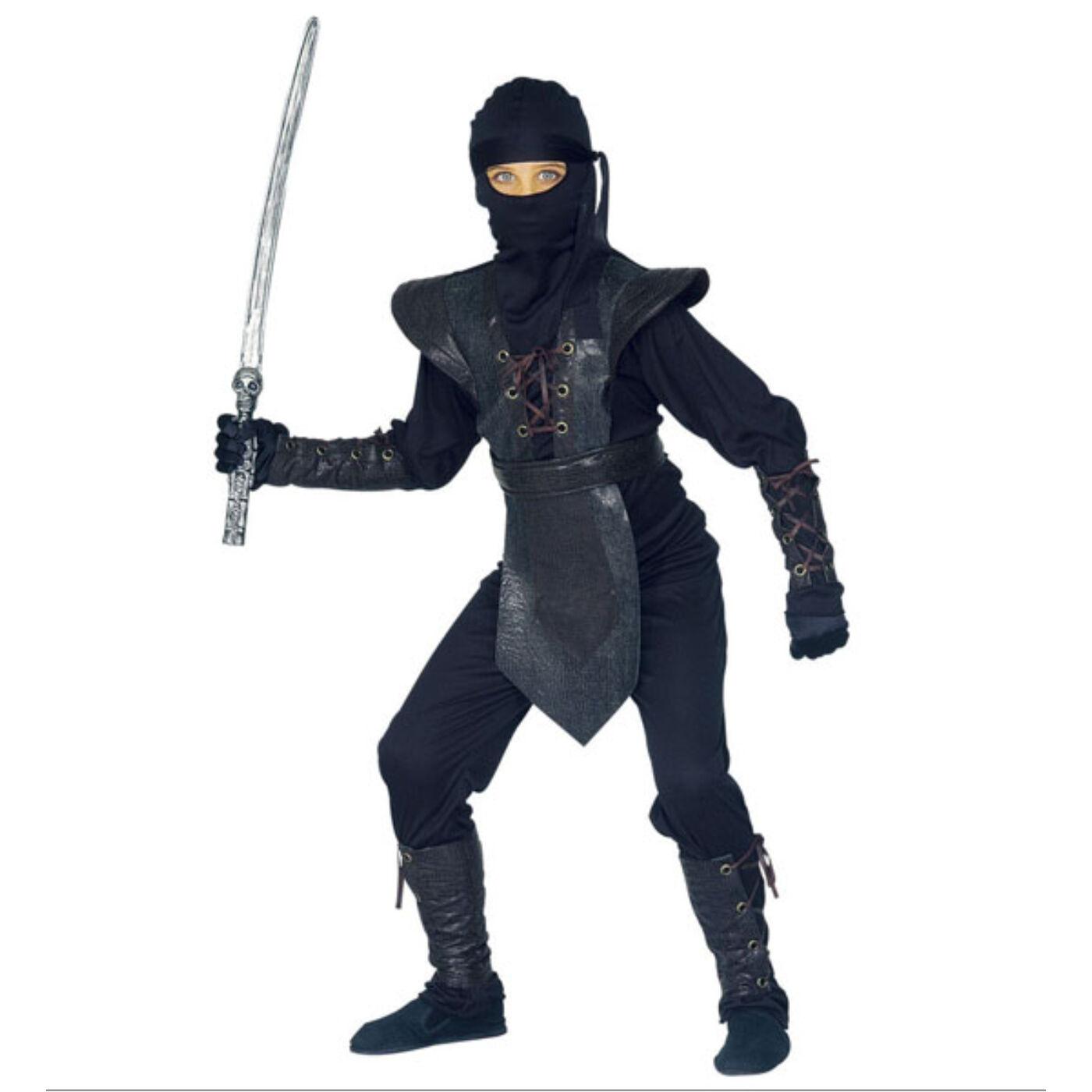 Fekete Ninja Jelmez 128-as