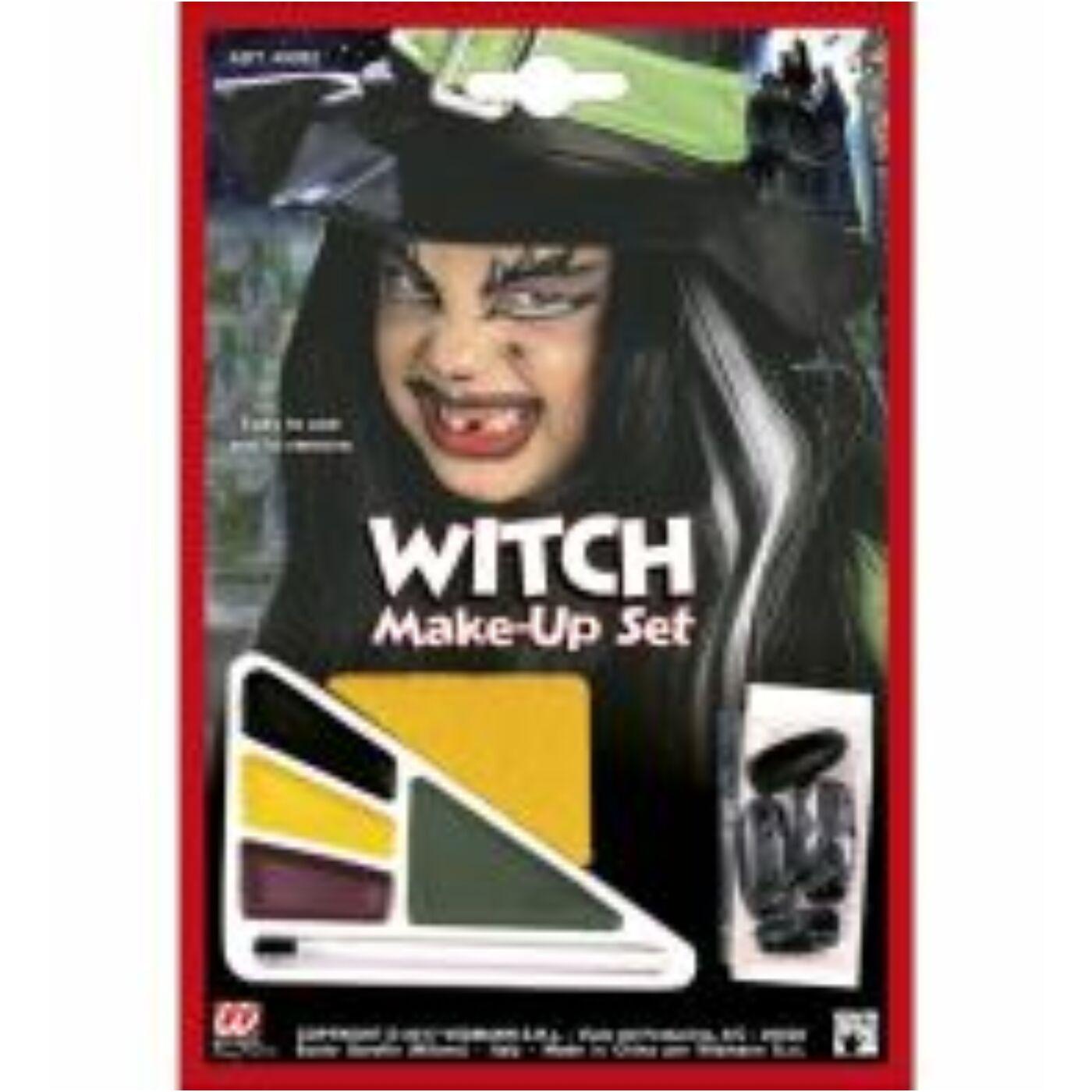 Halloween arcfesték-boszorkány