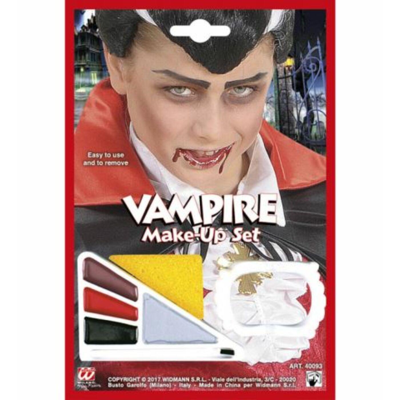 Halloween arcfesték-vámpír