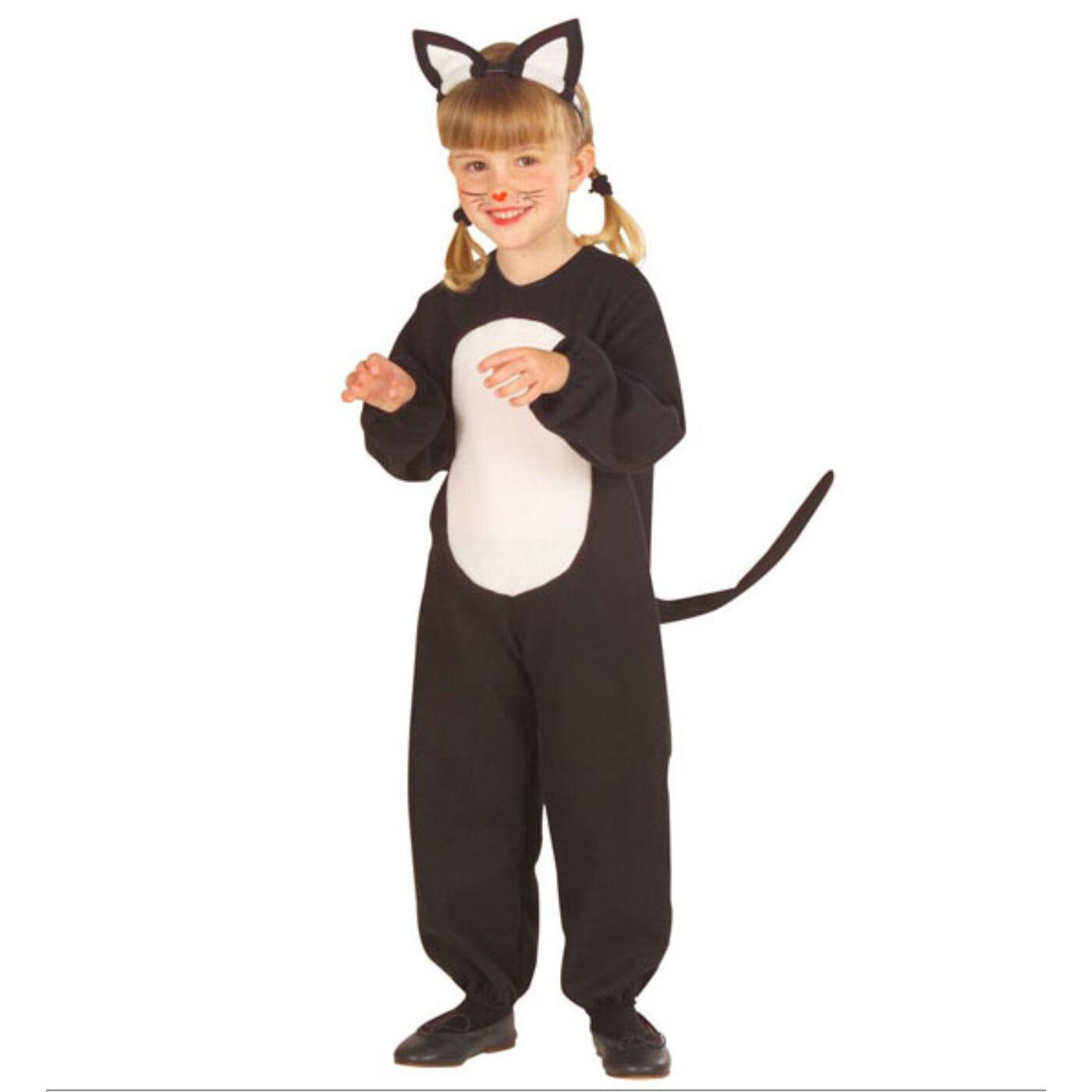 Fekete cica jelmez 104-es