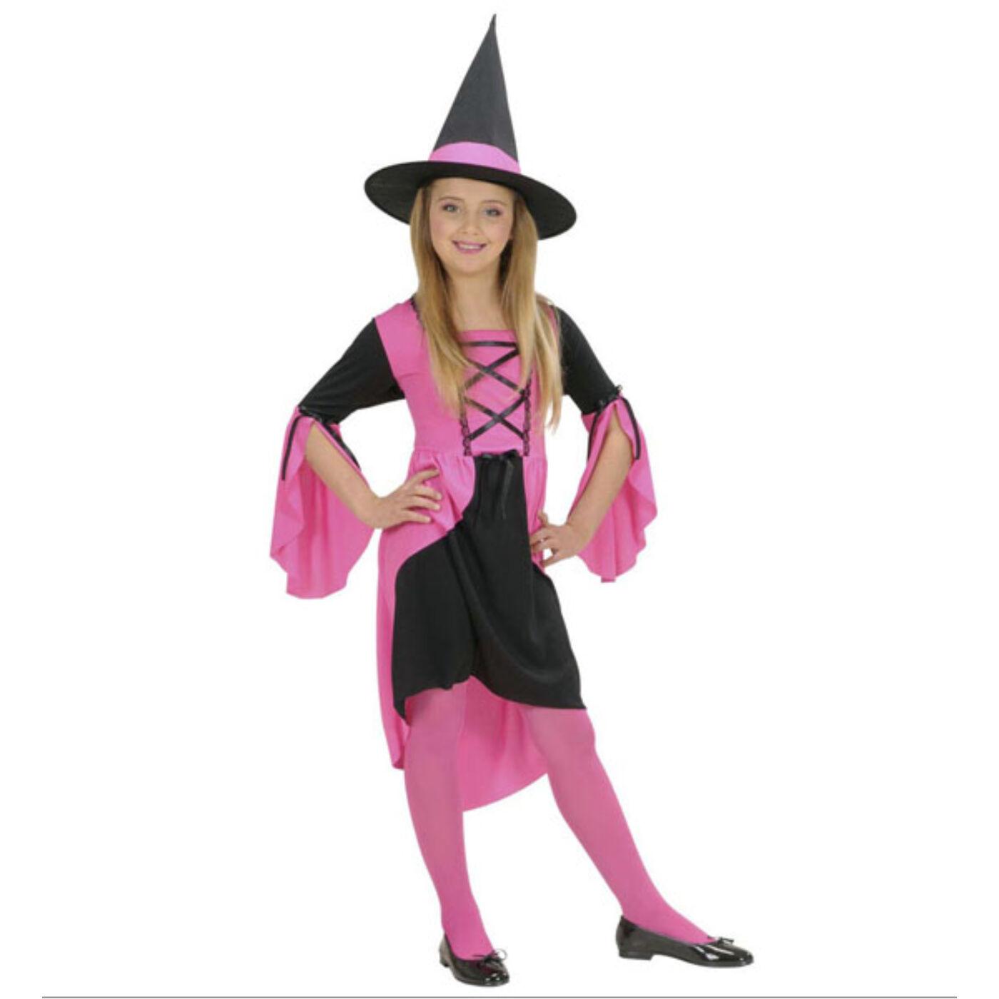 Rózsaszín boszorkány jelmez 140-es