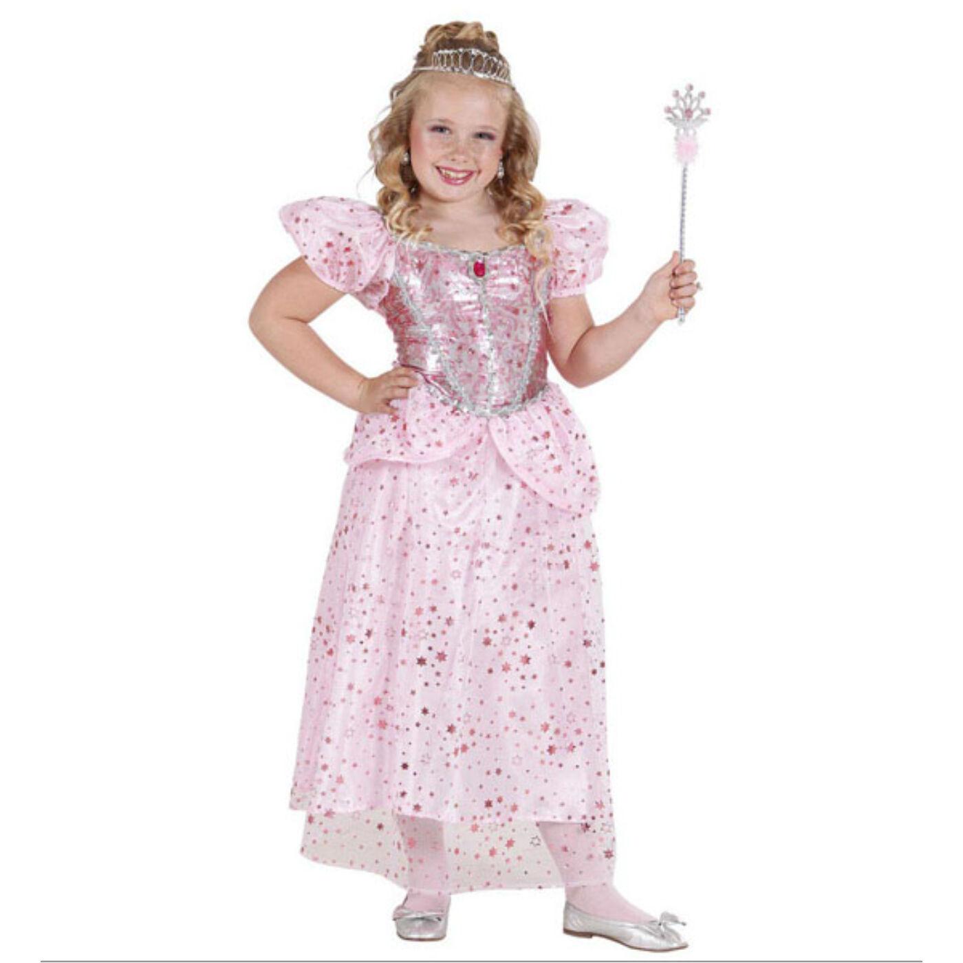 Rózsaszín hercegnő jelmez 140-es