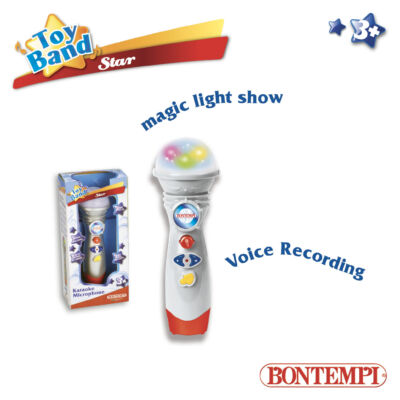 Bontempi Karaoke mikrofon