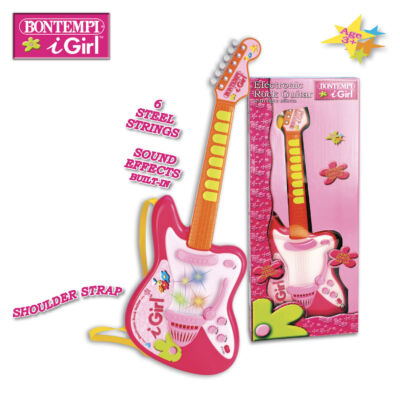 Elektromos rock gitár pink